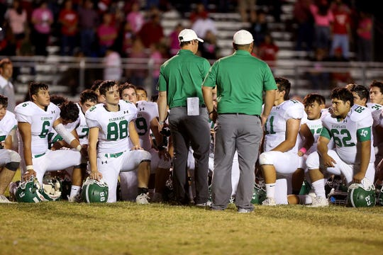 The Eldorado Eagles rallied from an 18-0 deficit to defeat TLCA 54-18 on Friday, Aug. 31, 2018, in Eldorado.