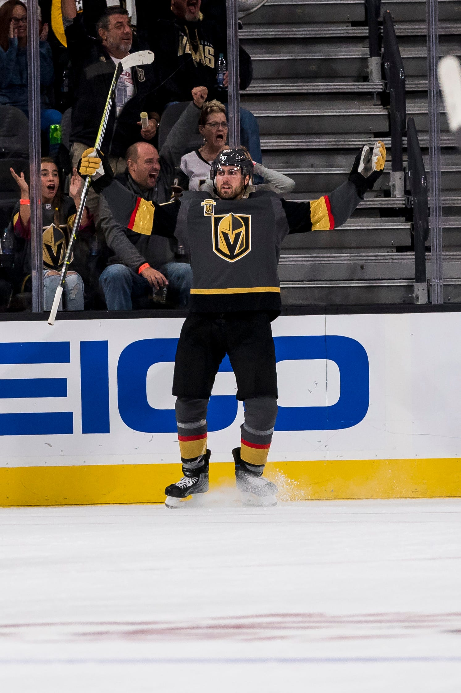 Trio of firsts help Golden Knights to another win