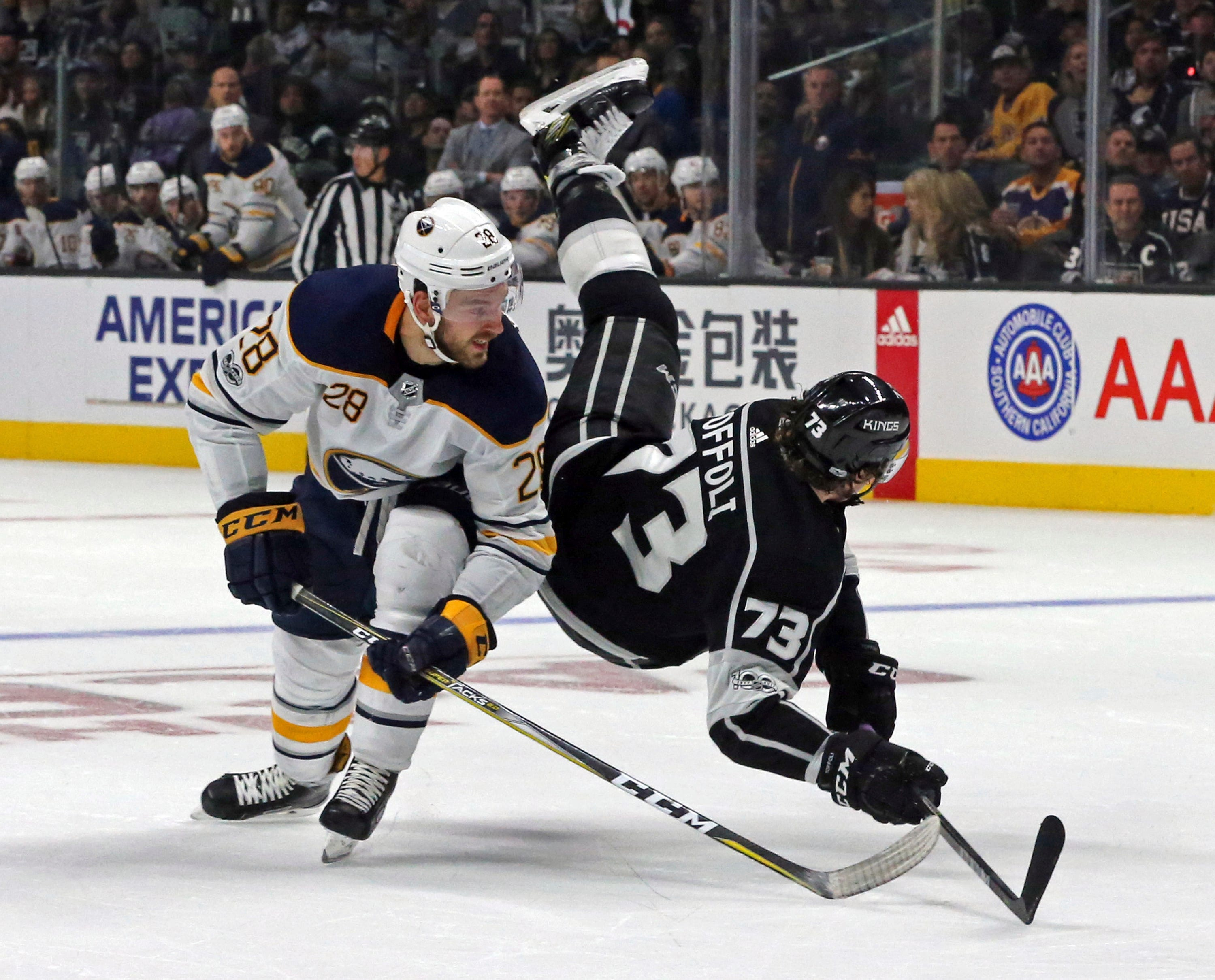 Doughty gets late winner in LA Kings' 4-2 win over Sabres