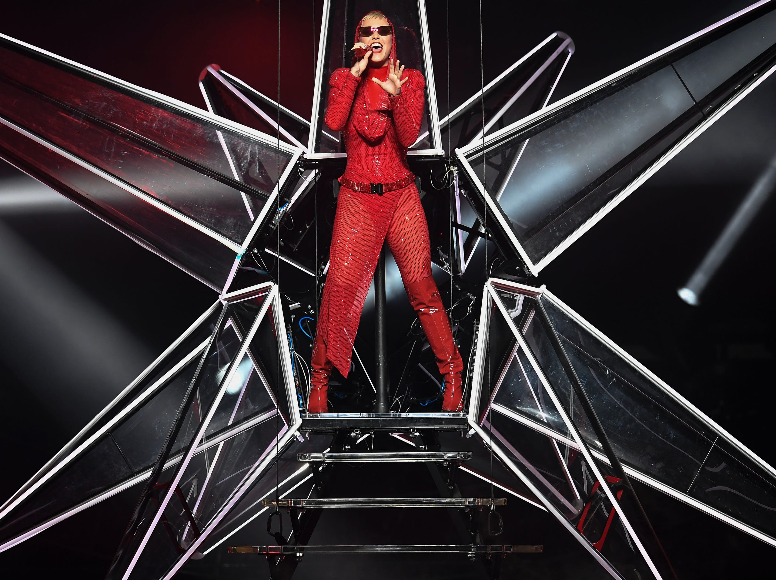Katy Perry Performs At Bridgestone Arena