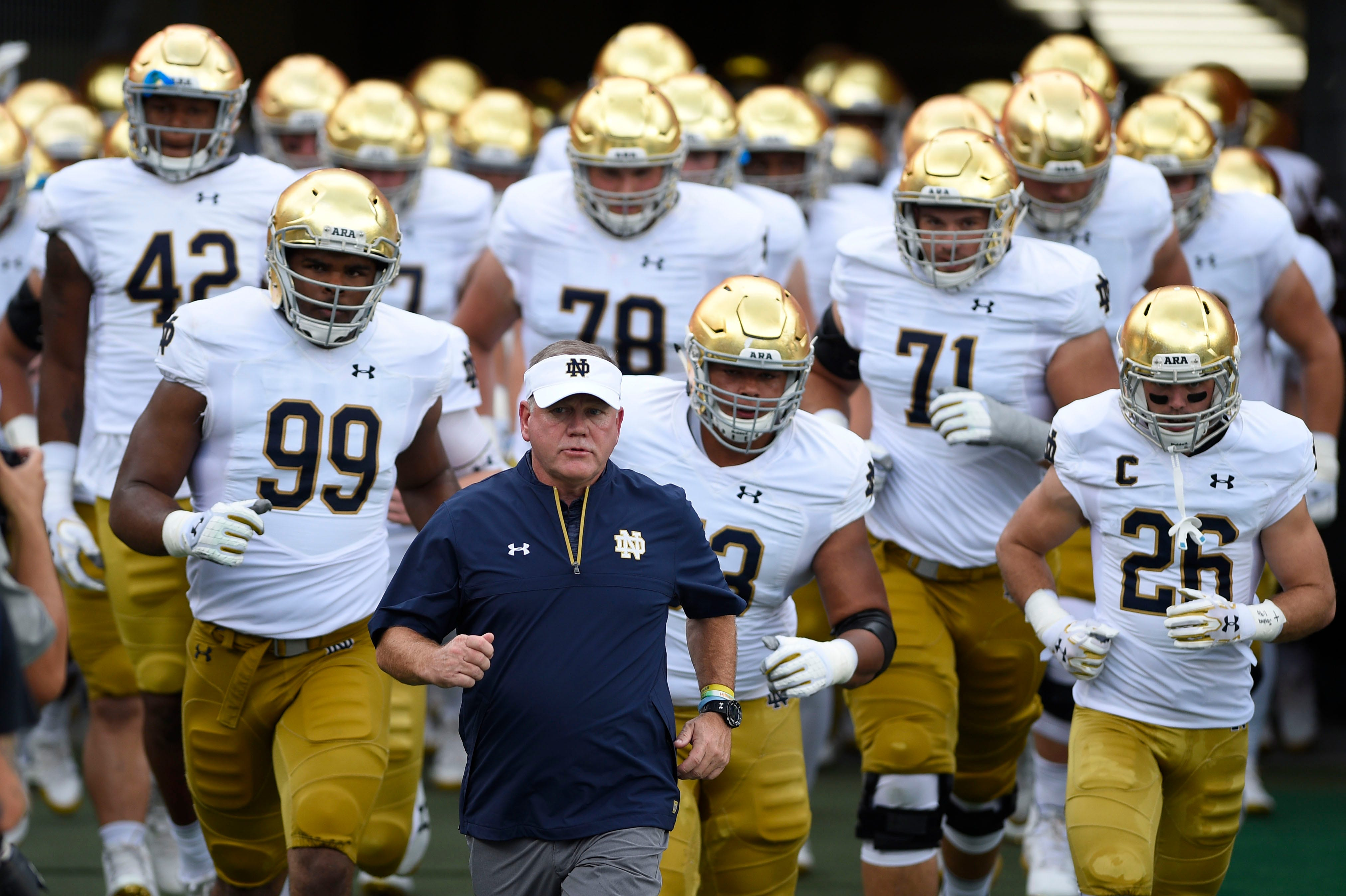 Week 8 lookahead Notre Dame-USC matchup this time has magnitude