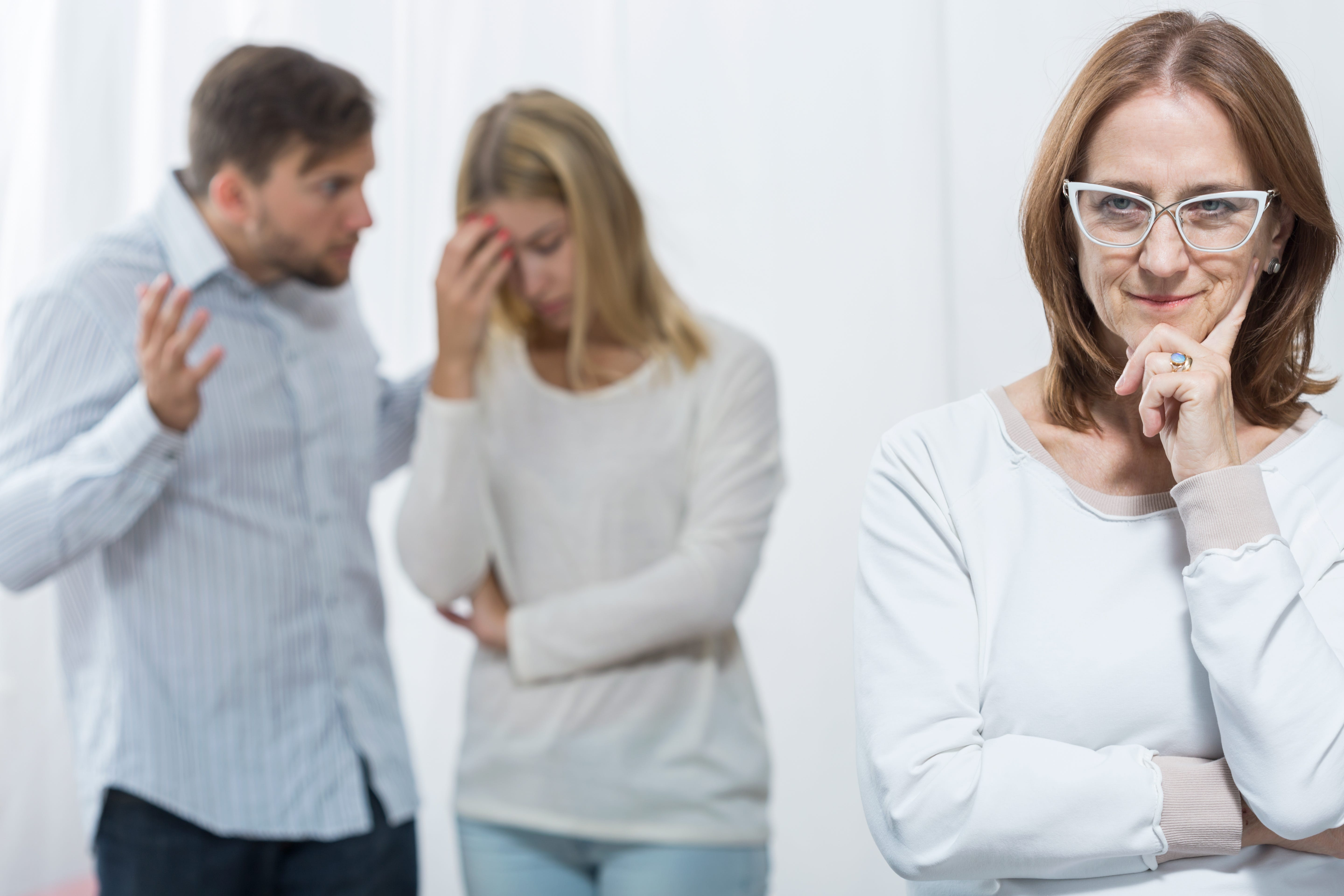 Handling a hostile sister-in-law requires action from the husband
