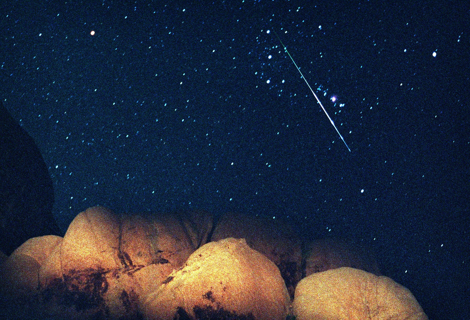 Thank your lucky stars! The Orionid meteor shower peaks this weekend