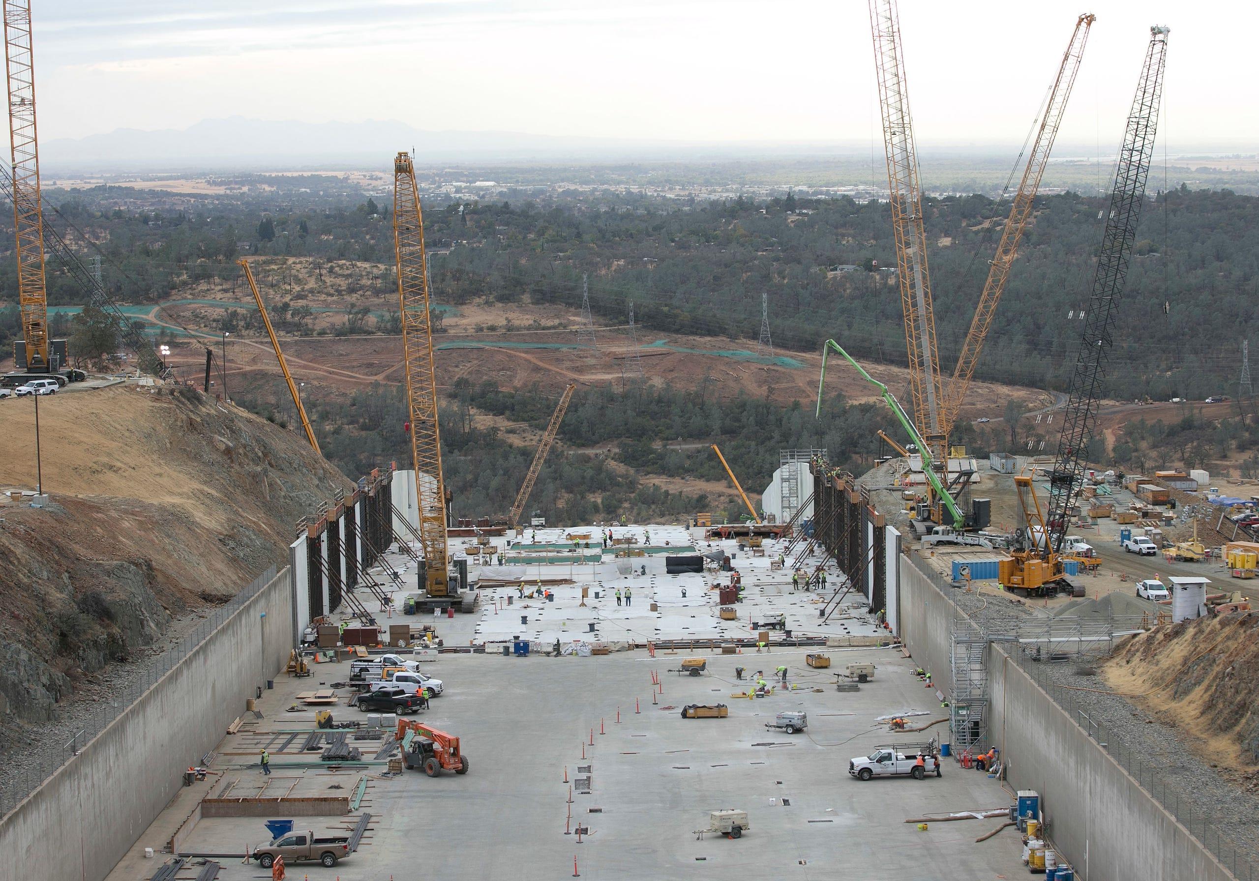 Oroville Dam repairs continue