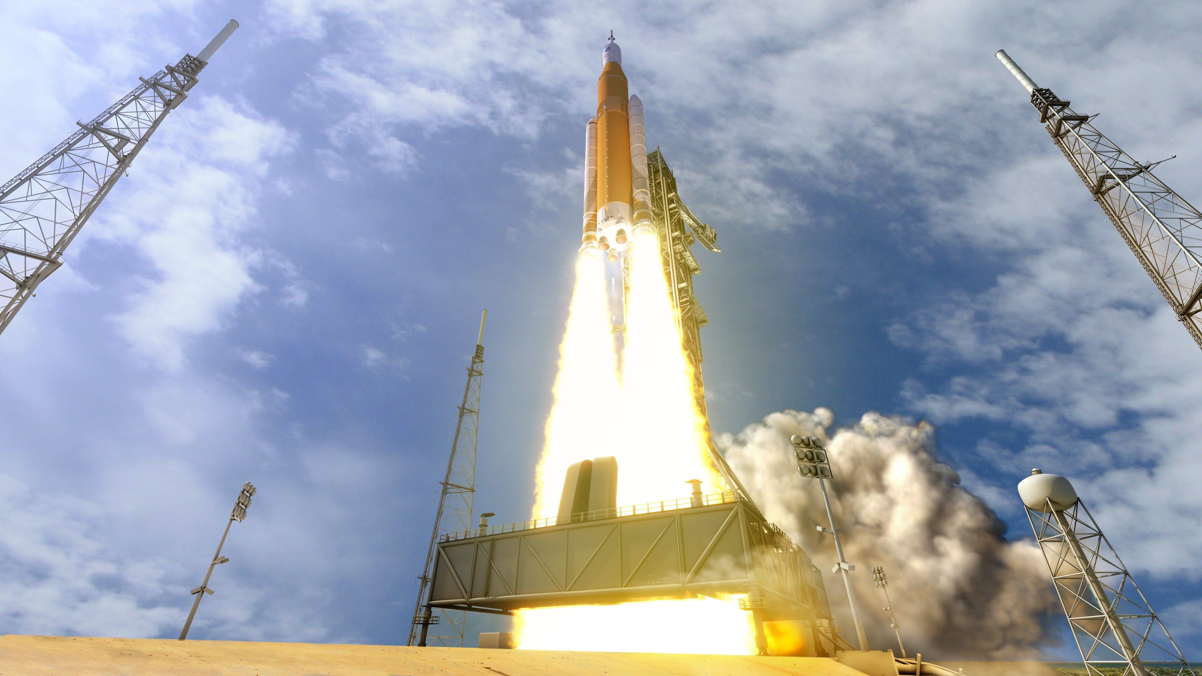 nasa rocket launches - HD1800×1013