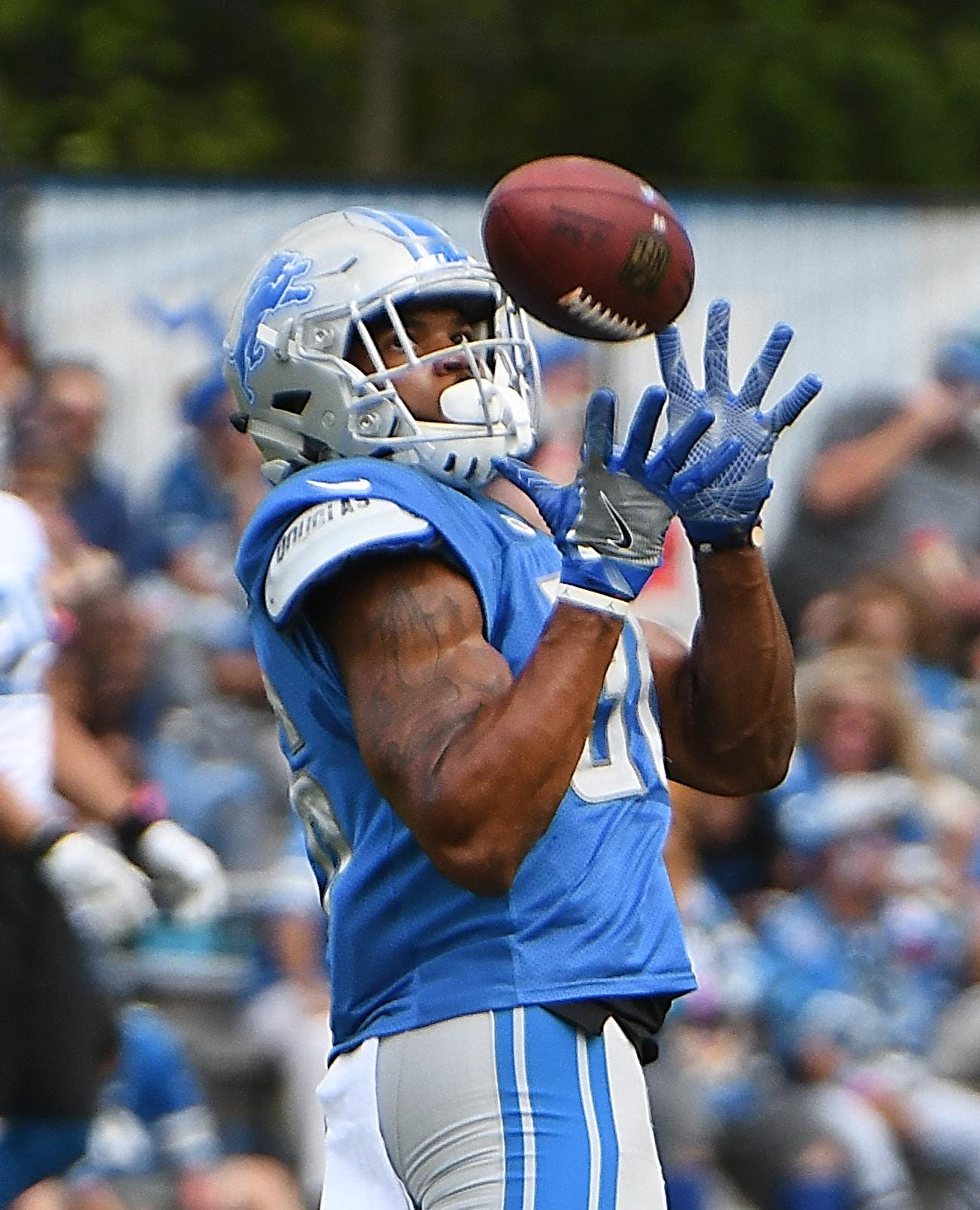 Rookie running back playing his part for Lions