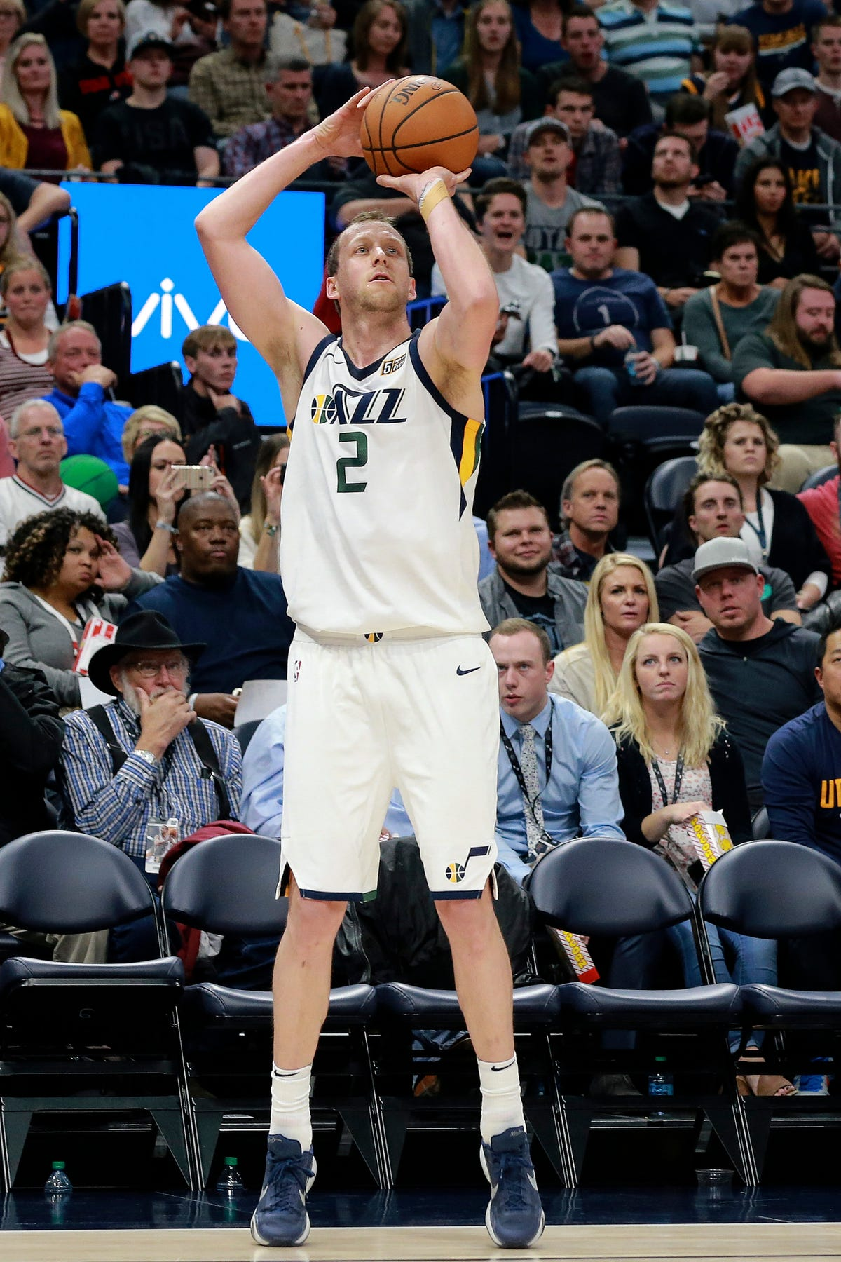 size 40 c90dc 06f52 Jazz forward Joe Ingles fined by NBA for contact with Steven ...