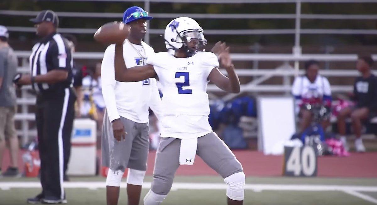 Watch Deion Sanders' freshman son go off for 6 TDs