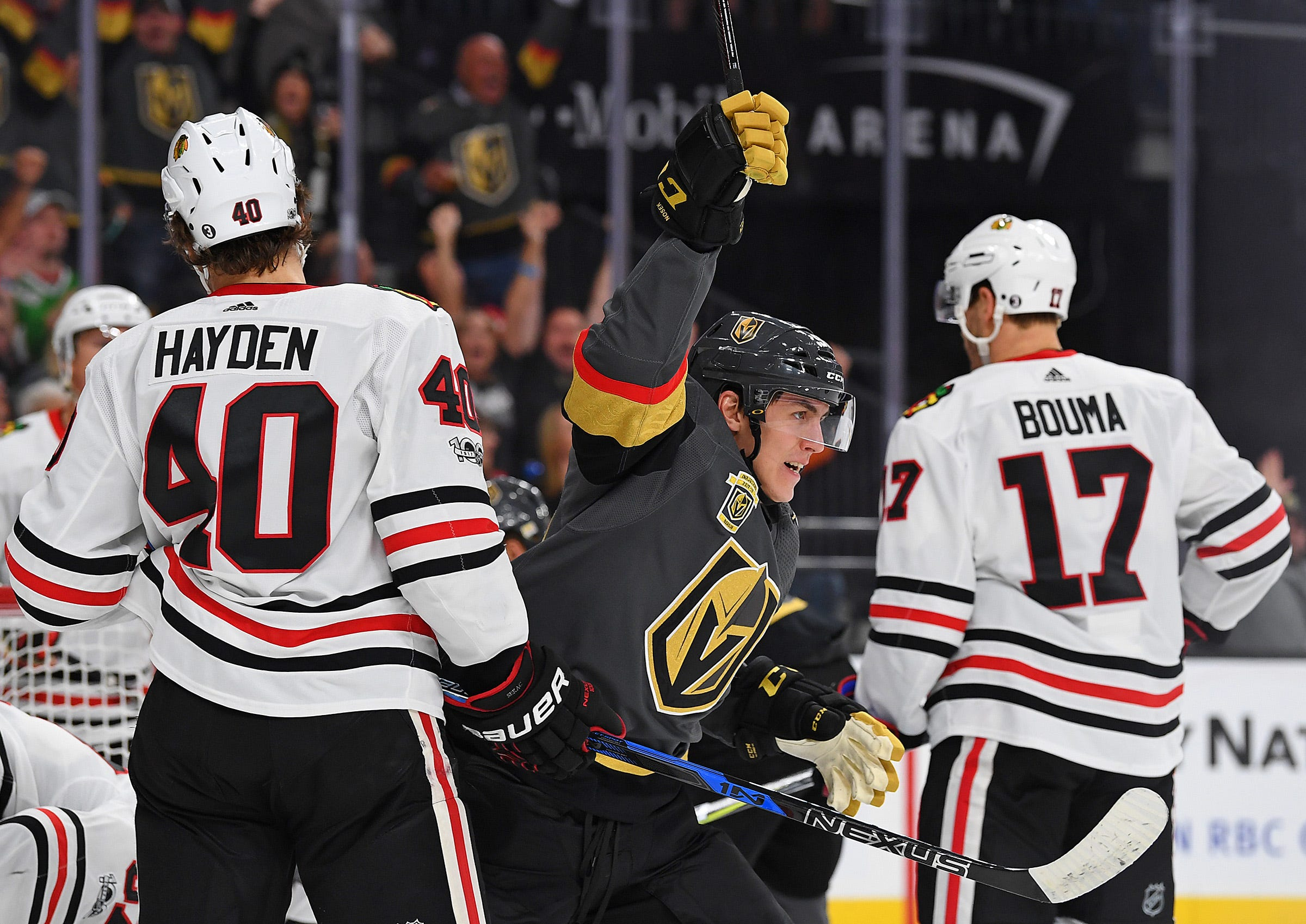 Golden Knights keep making history with 7-1 start