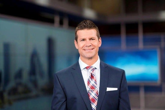 A TV meteorologist who used a racial slur on air was swiftly fired