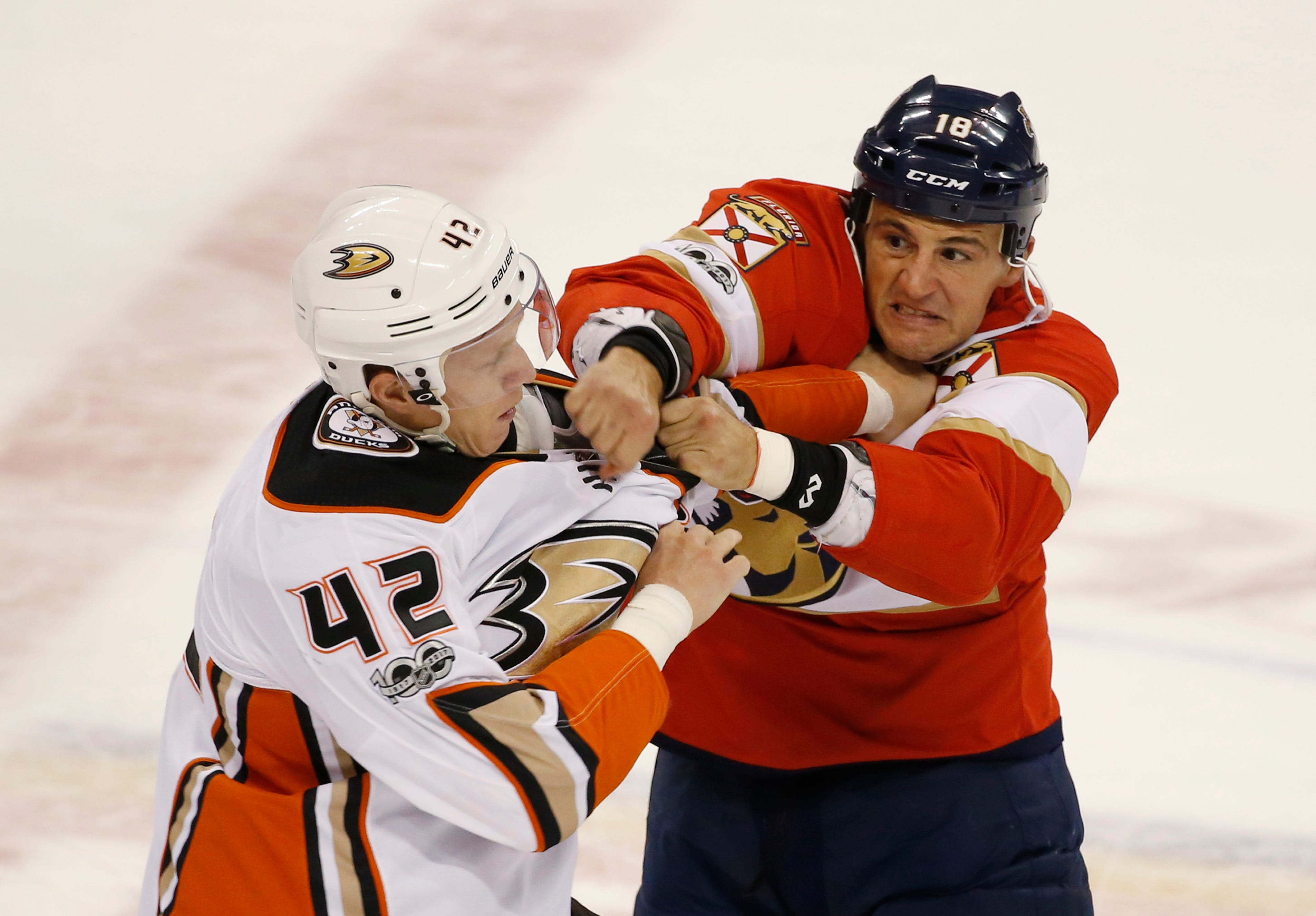 Vrbata's 7 career hat trick lifts Panthers over Ducks