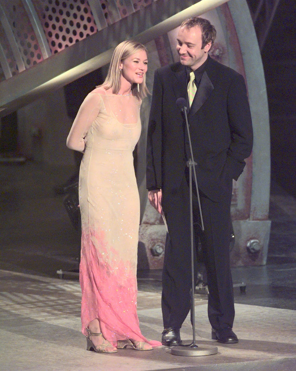 DATE TAKEN: 2/26/97--- Jewel and Kevin Spacey present