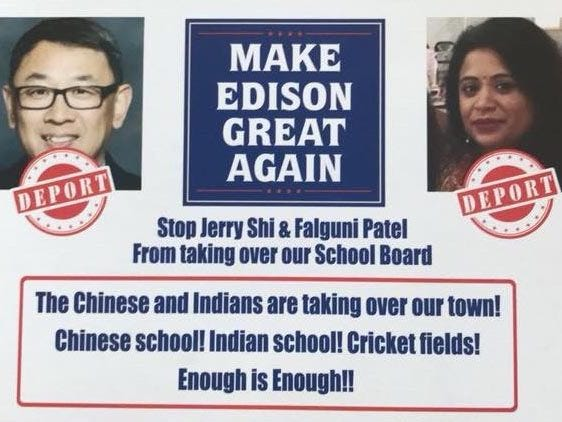 Edison Mayor Thomas Lankey took a stand against those involved in the racist flyers circulated in the township's 2017 school board election.