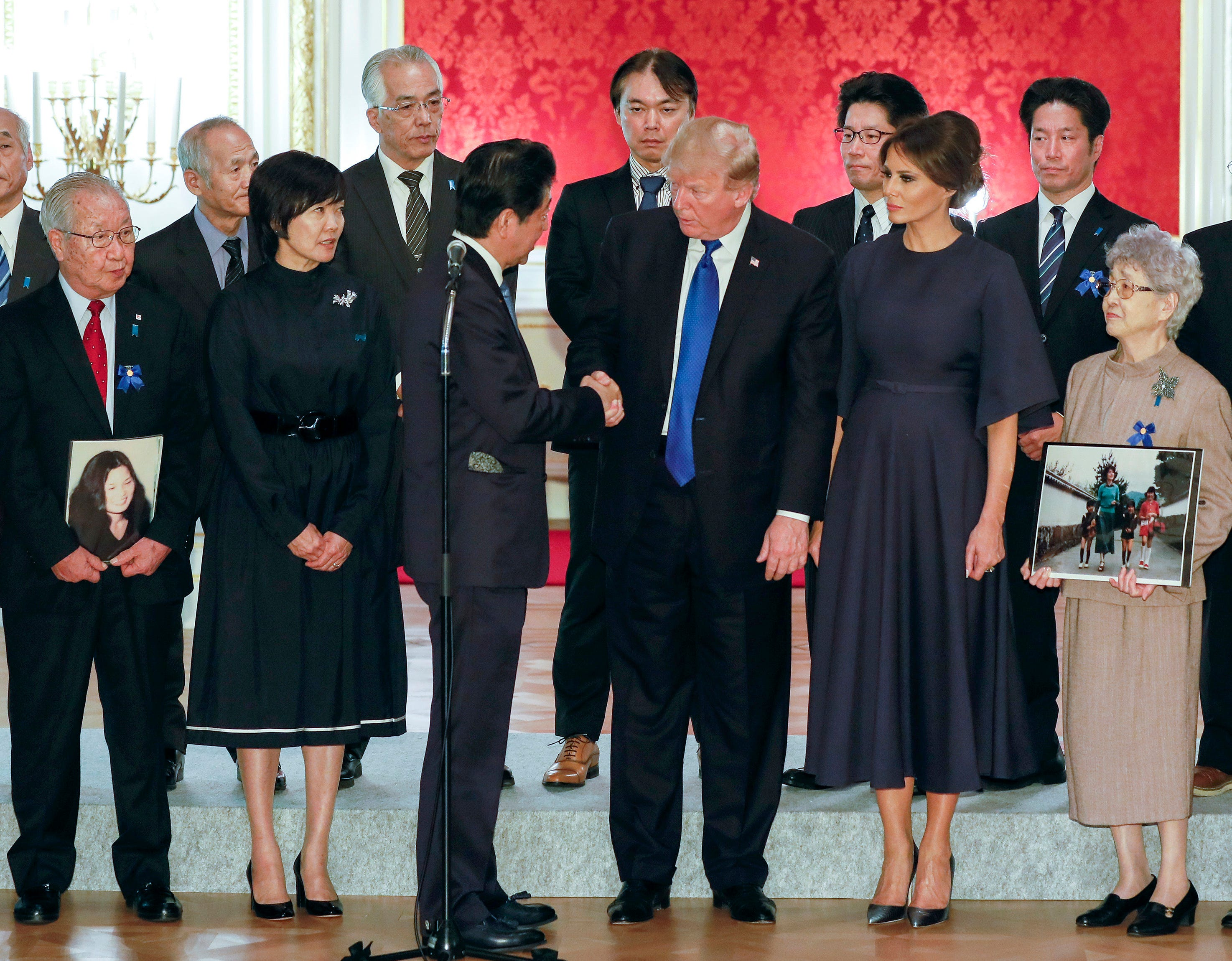 Japan's foreign minister seeks U.S. help on abductees in North Korea