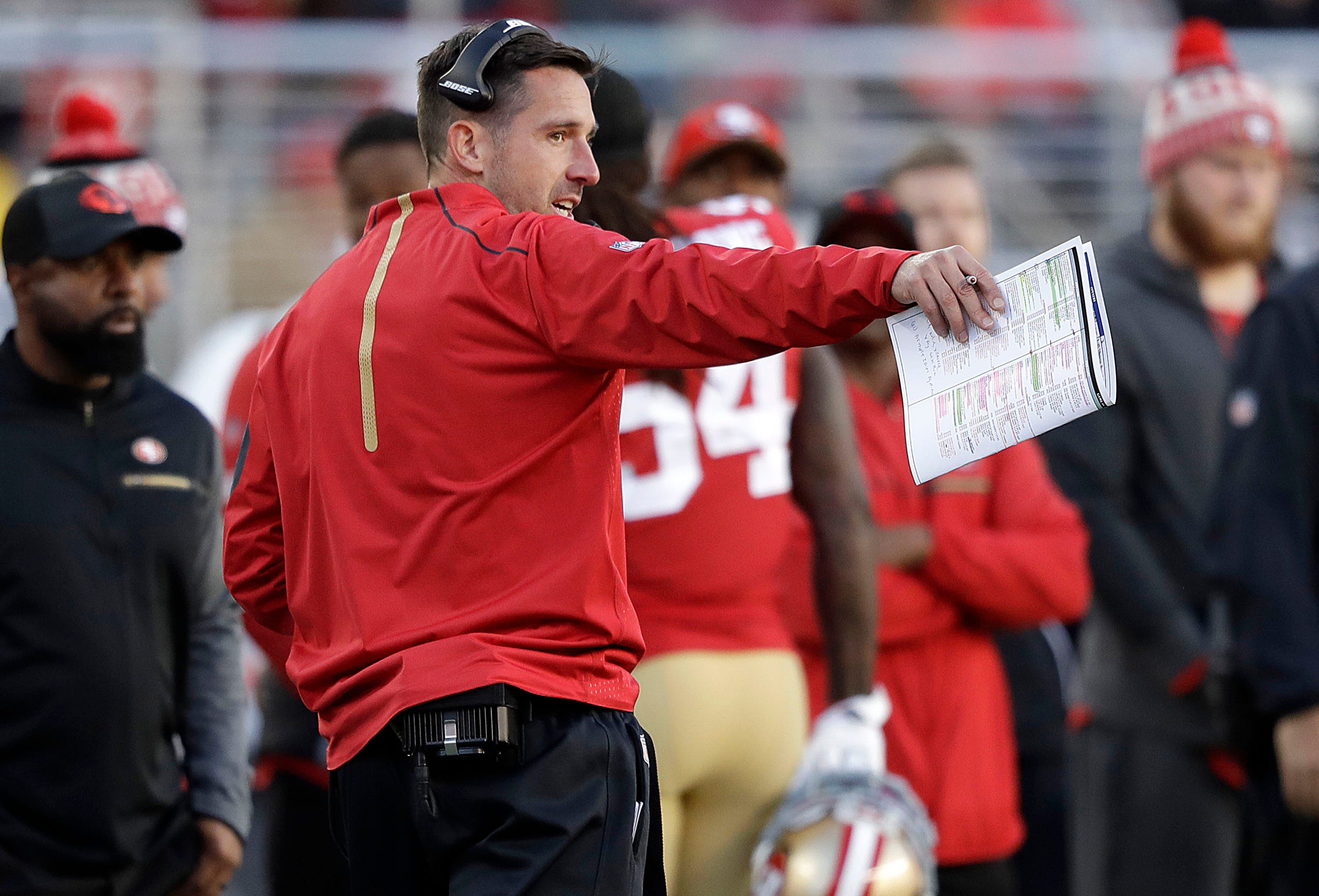 Winless Shanahan evaluating how 49ers handle adversity