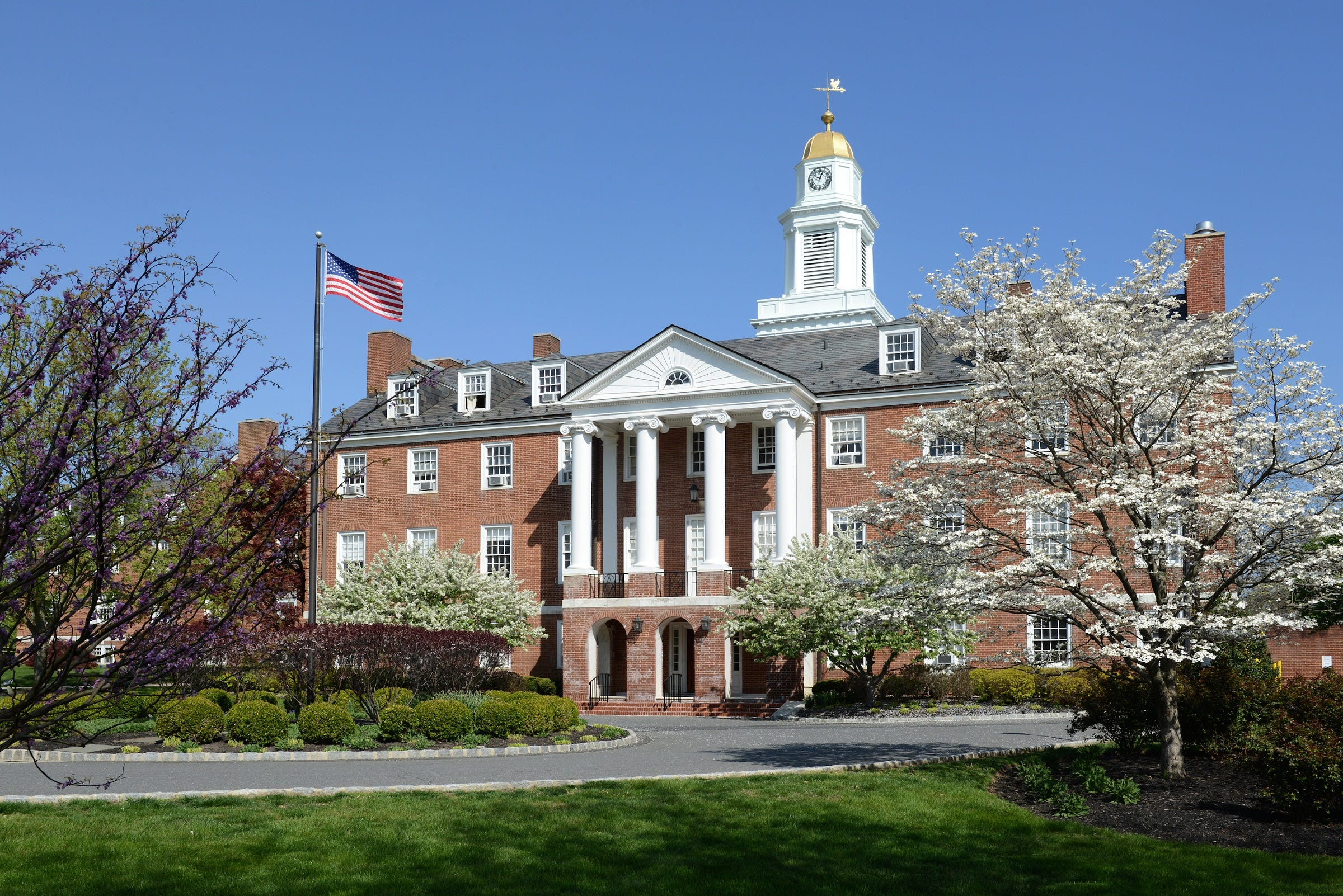 Rider University recently closed on new bonded dent in part to to help fund the cost of transitioning Westminster Choir College - its Williamson Hall is pictured here - to Rider's Lawrenceville campus.