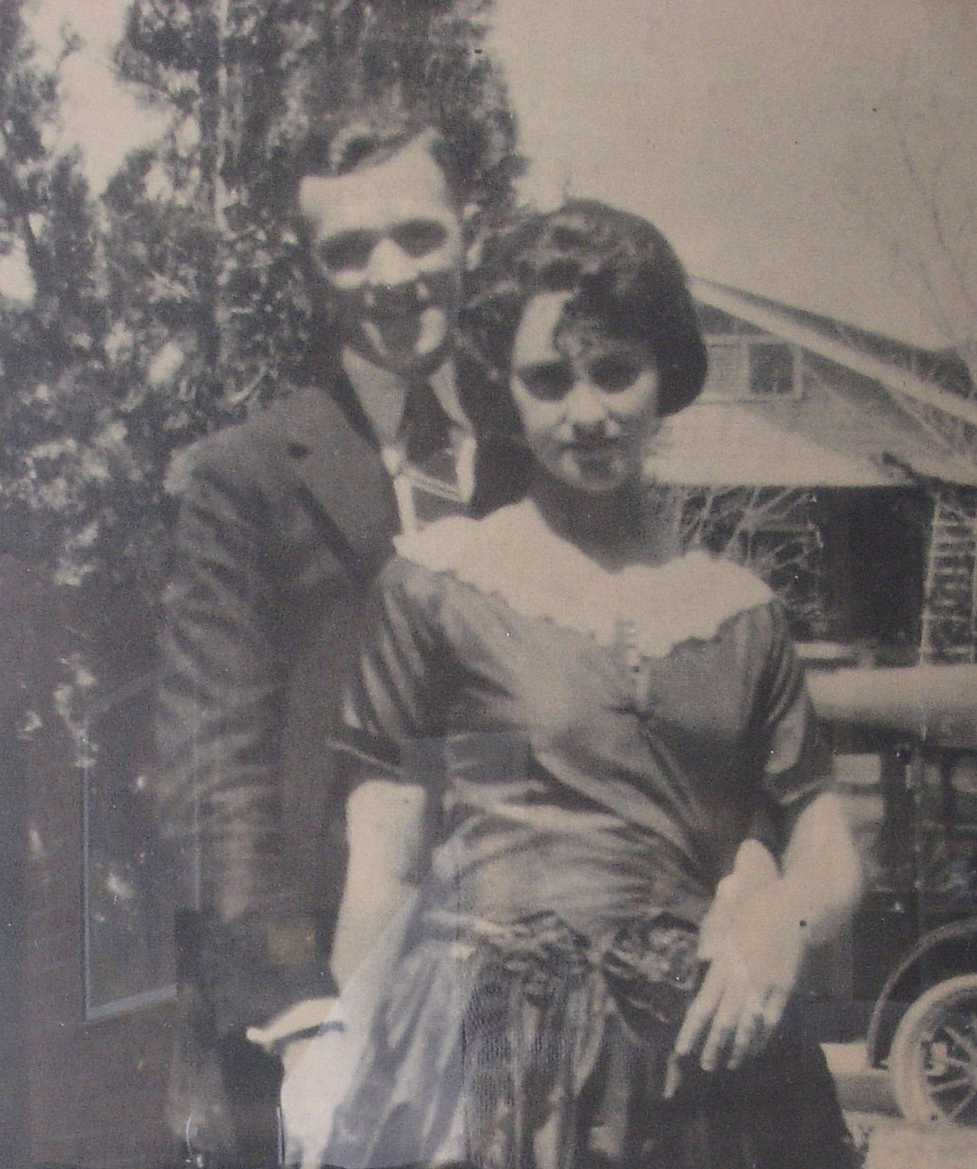 An undated photo of Charlie and Pearl Bracker.