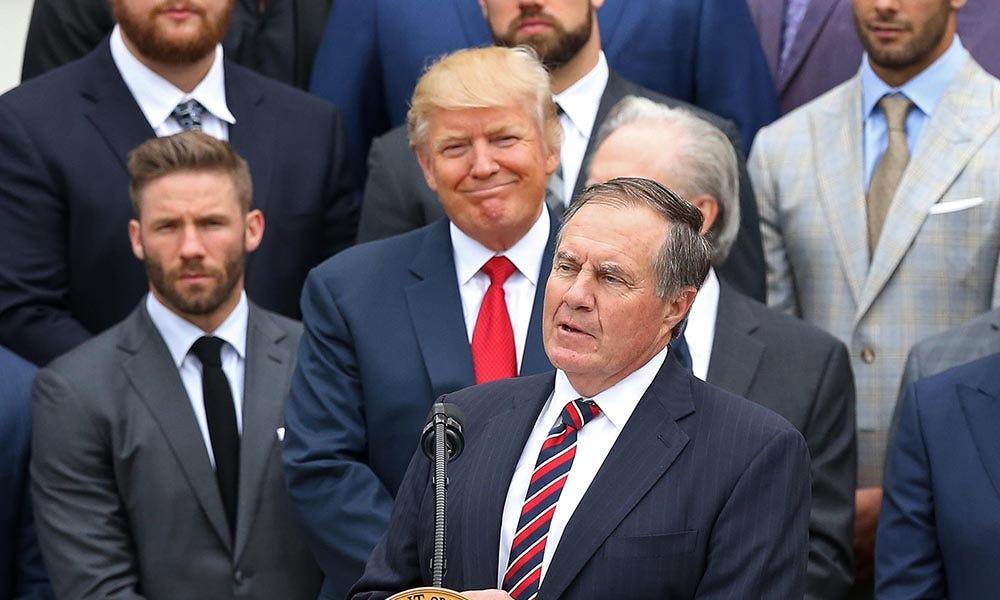 Donald Trump appoints Patriots coach Bill Belichick to Sports Council