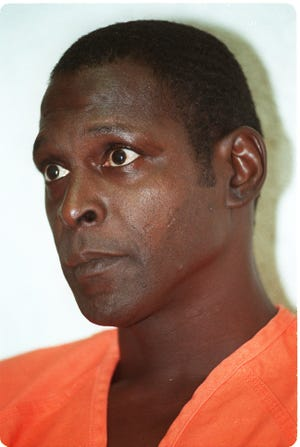 Crosley Green, shown almost three decades ago, after being convicted of murder.