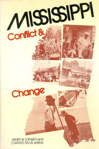 """""""Mississippi Conflict and Change"""" was a history textbook written by two Mississippi historians. The textbook was originally rejected by the state because it did not maintain previously accepted interpretations of historic events."""