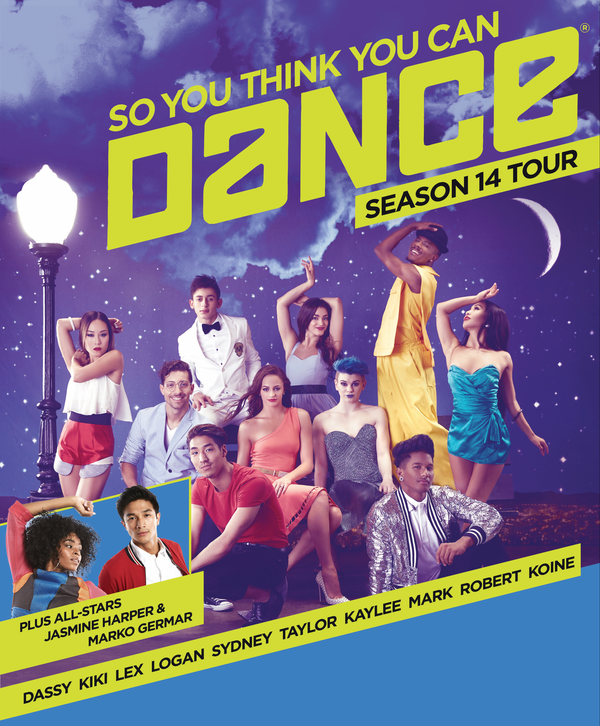 11/12: So You Think You Can Dance Tour – Season 14
