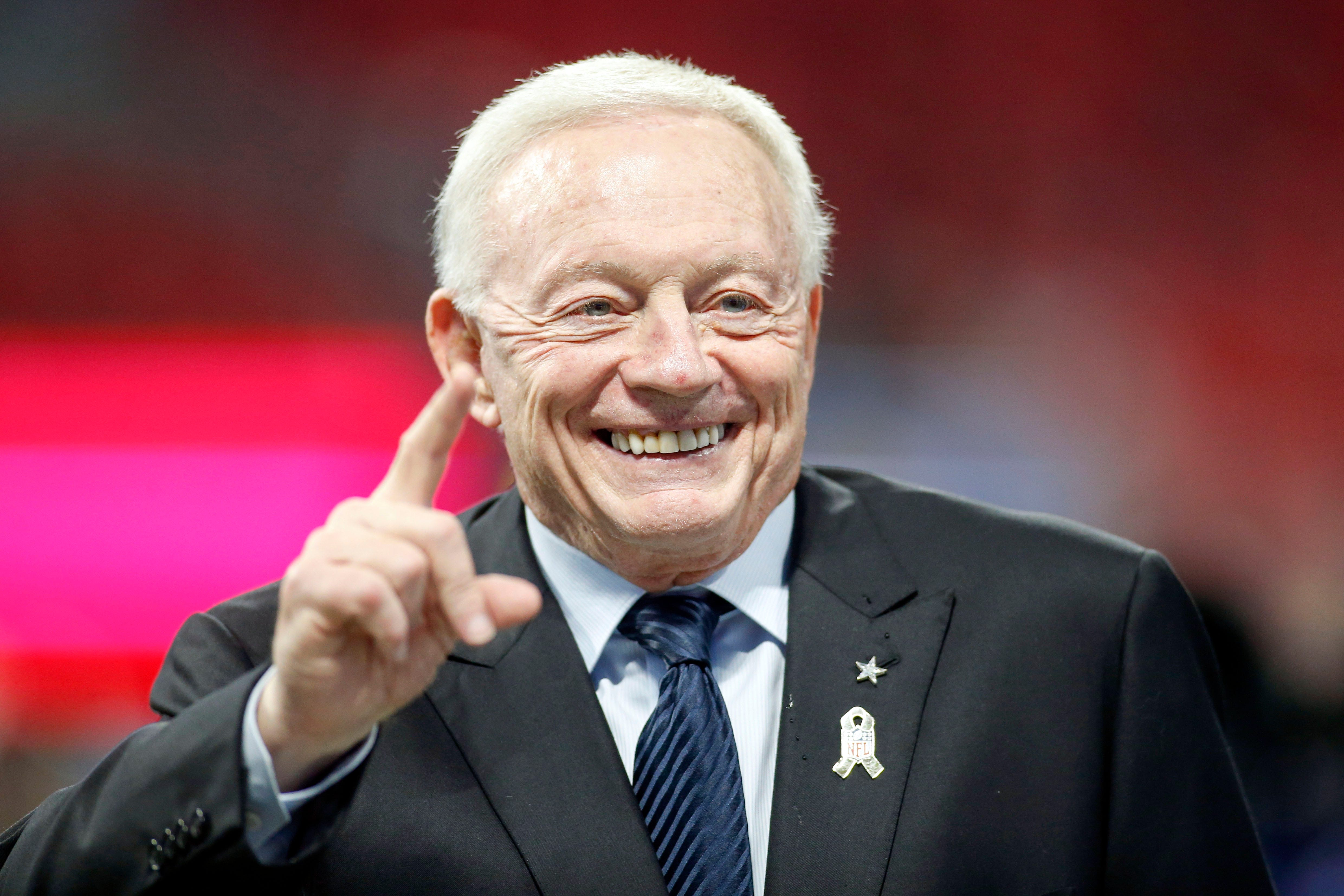 NFL's woes highlighted by frosty silence between Jerry Jones, Arthur Blank