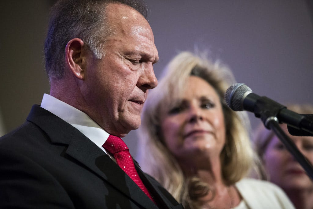 Roy Moore and the Alabama paradox: Vote for him to get rid of him
