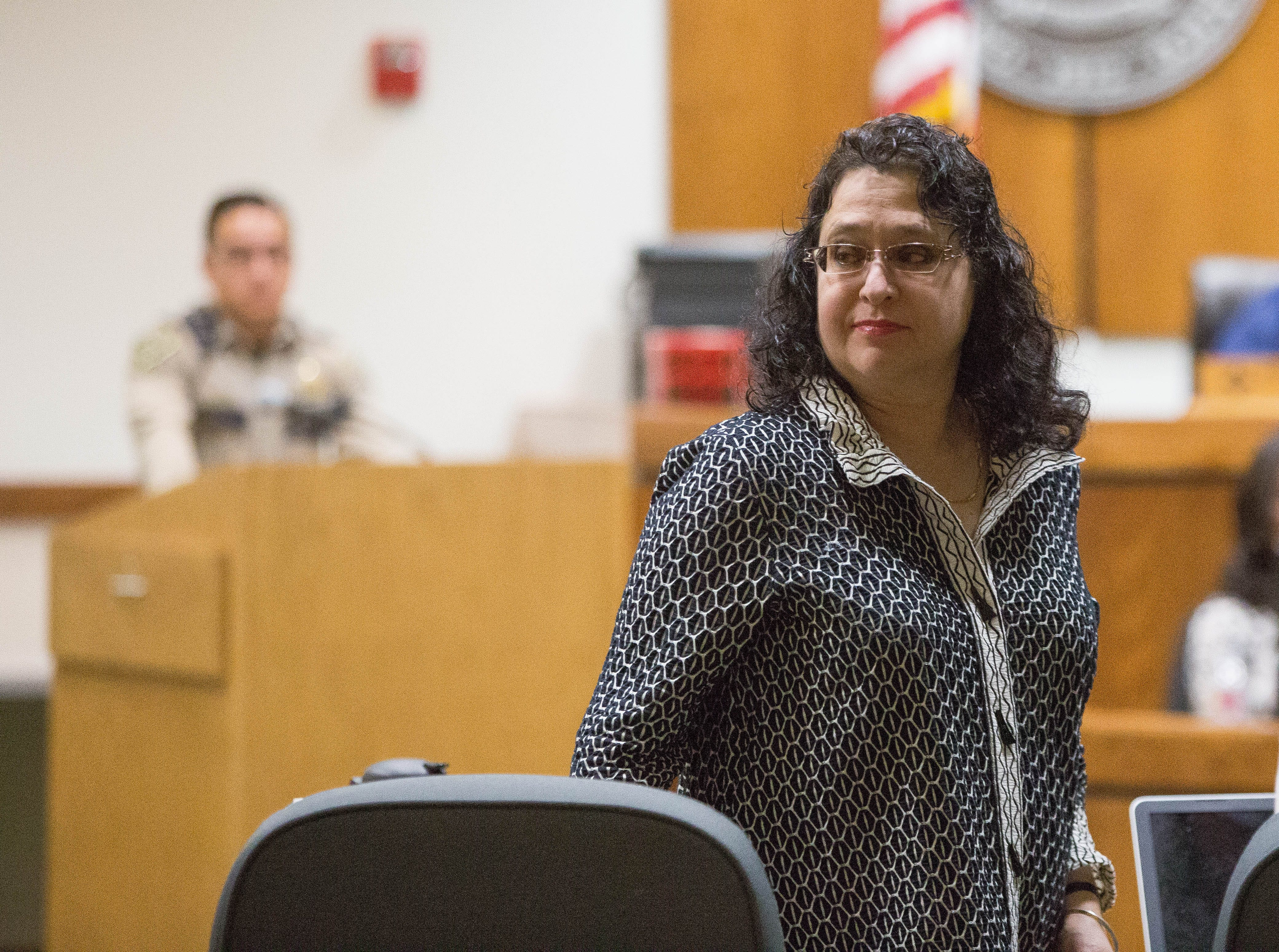 District Attorney Estevez back in court for hearing before trial on traffic-stop charges | Las Cruces Sun