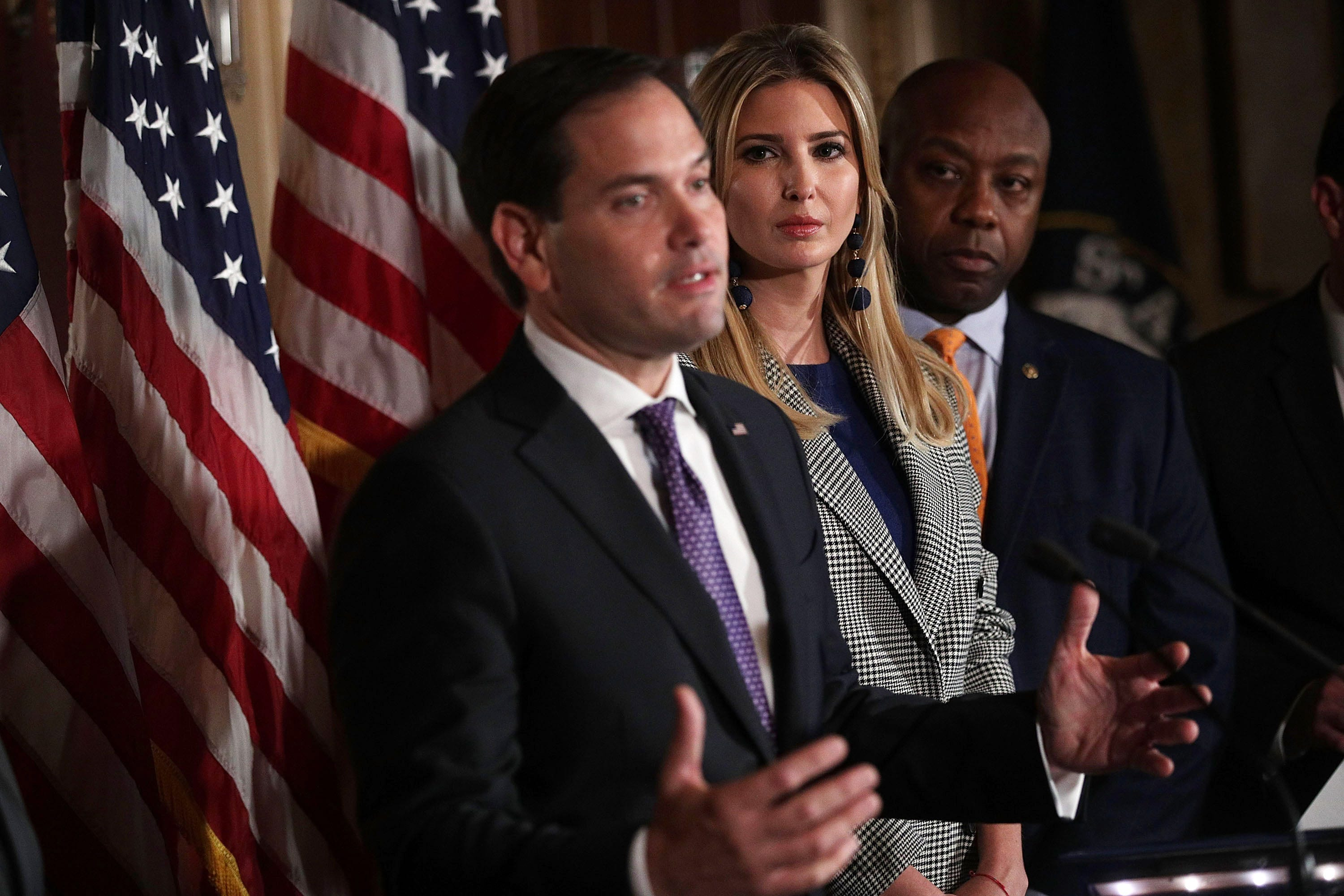 Tax bill drama: Rubio threatens a 'no' vote, Lee a maybe unless child credit is expanded