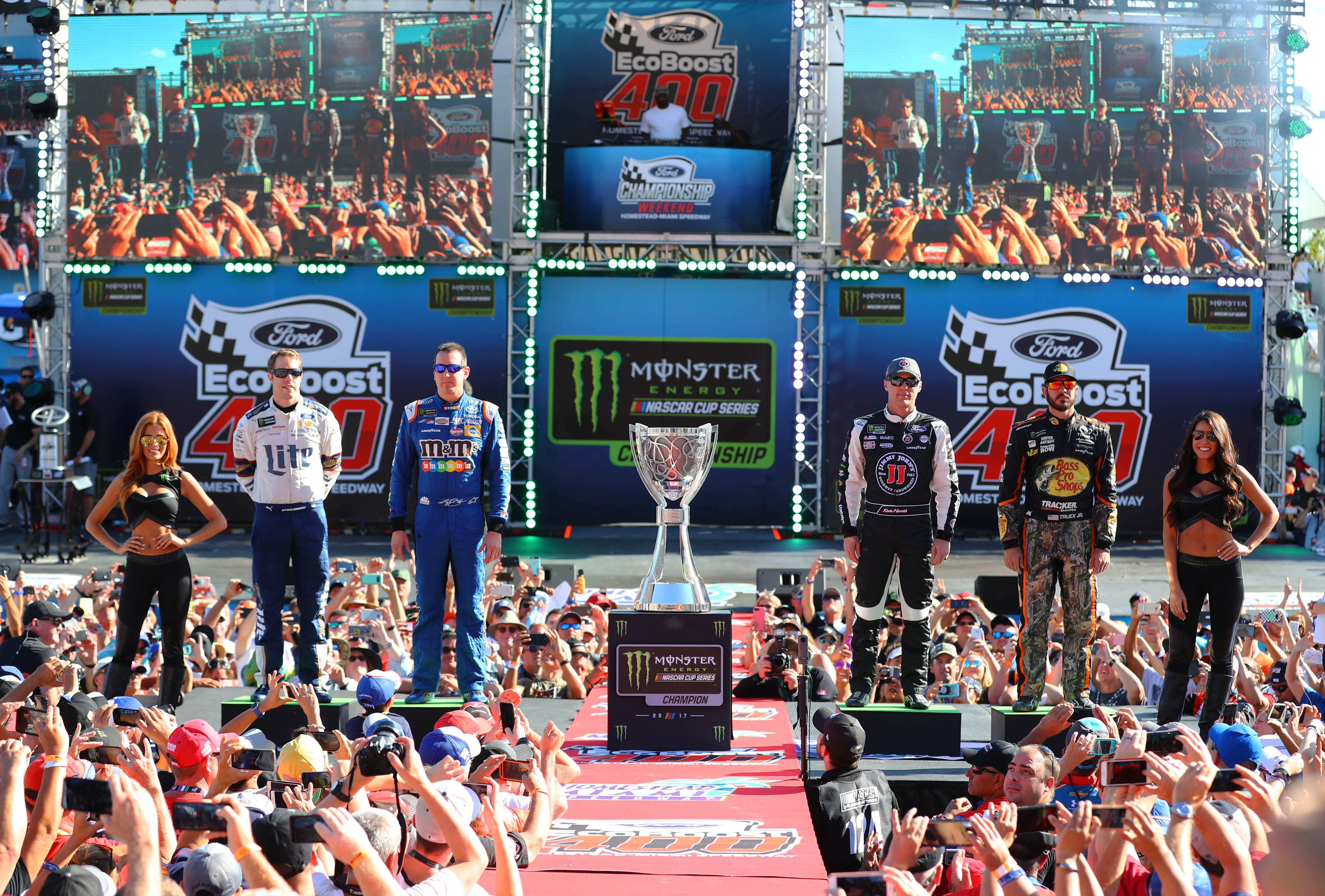 Every driver who has won NASCAR Cup Series championship