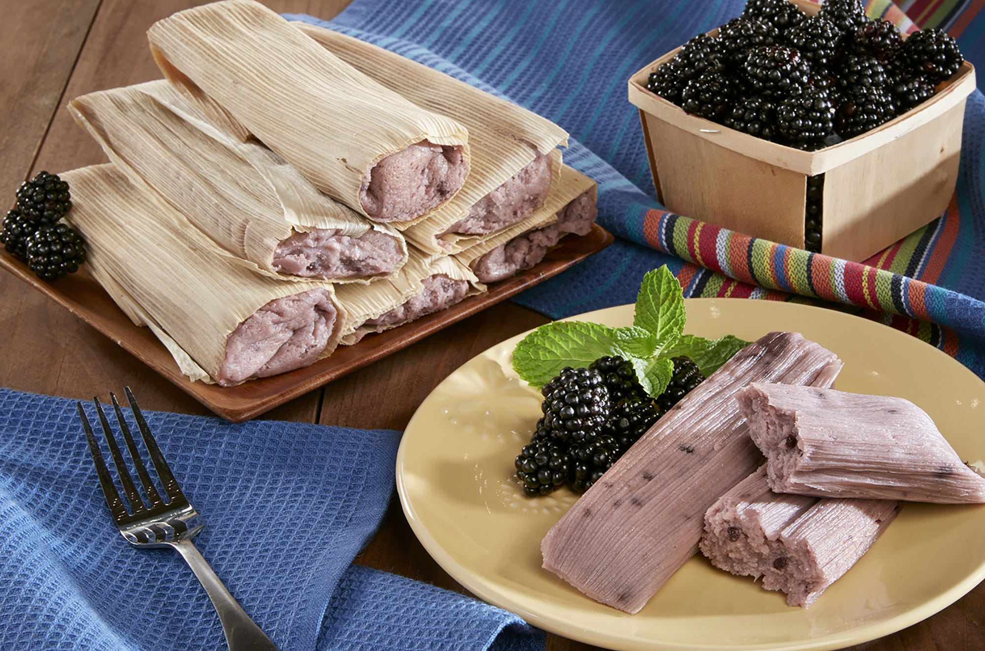 The blackberry tamales at Food City.