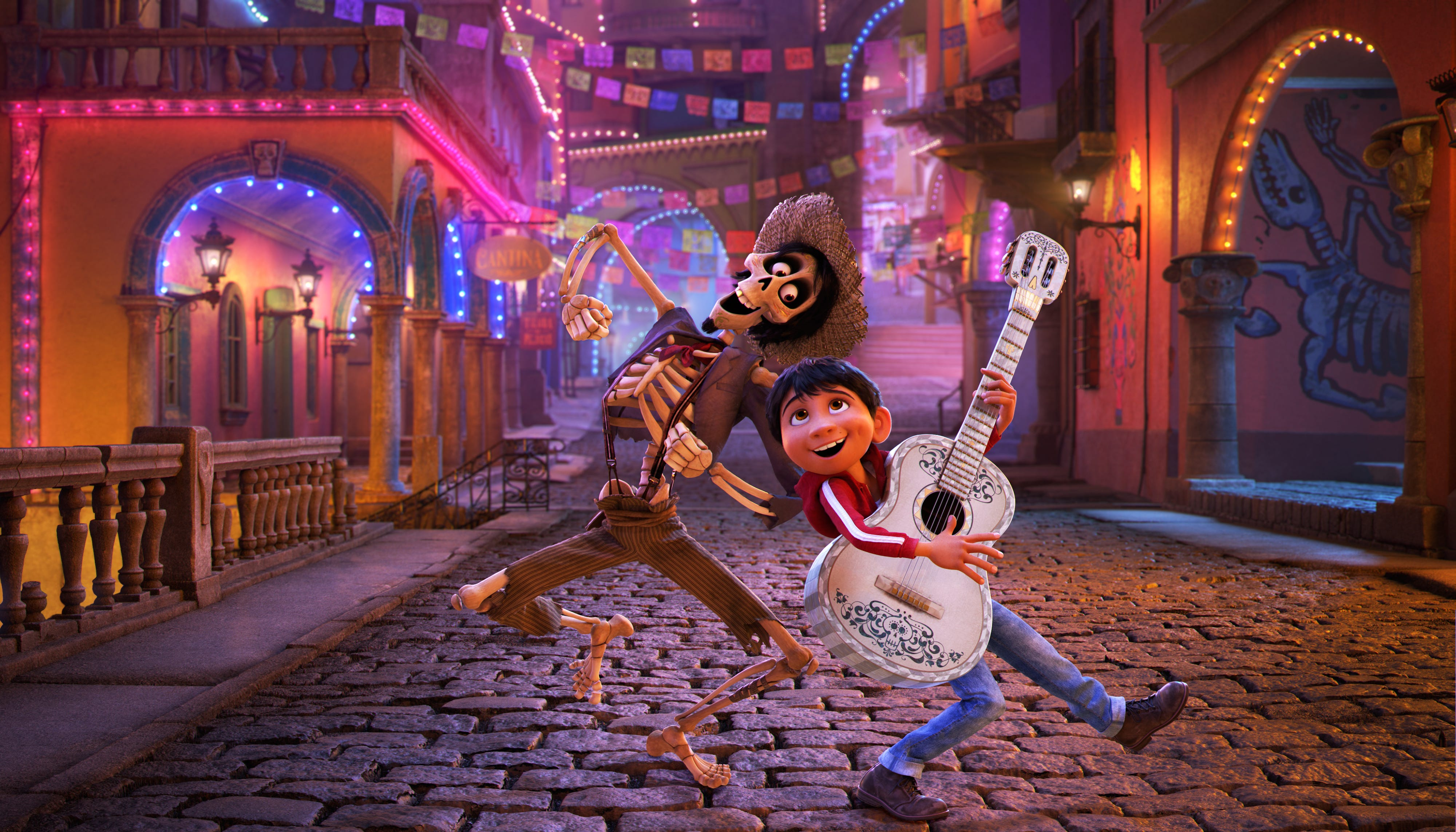 Pixar's 'Coco' tops 'Justice League' to win the Thanksgiving weekend box office