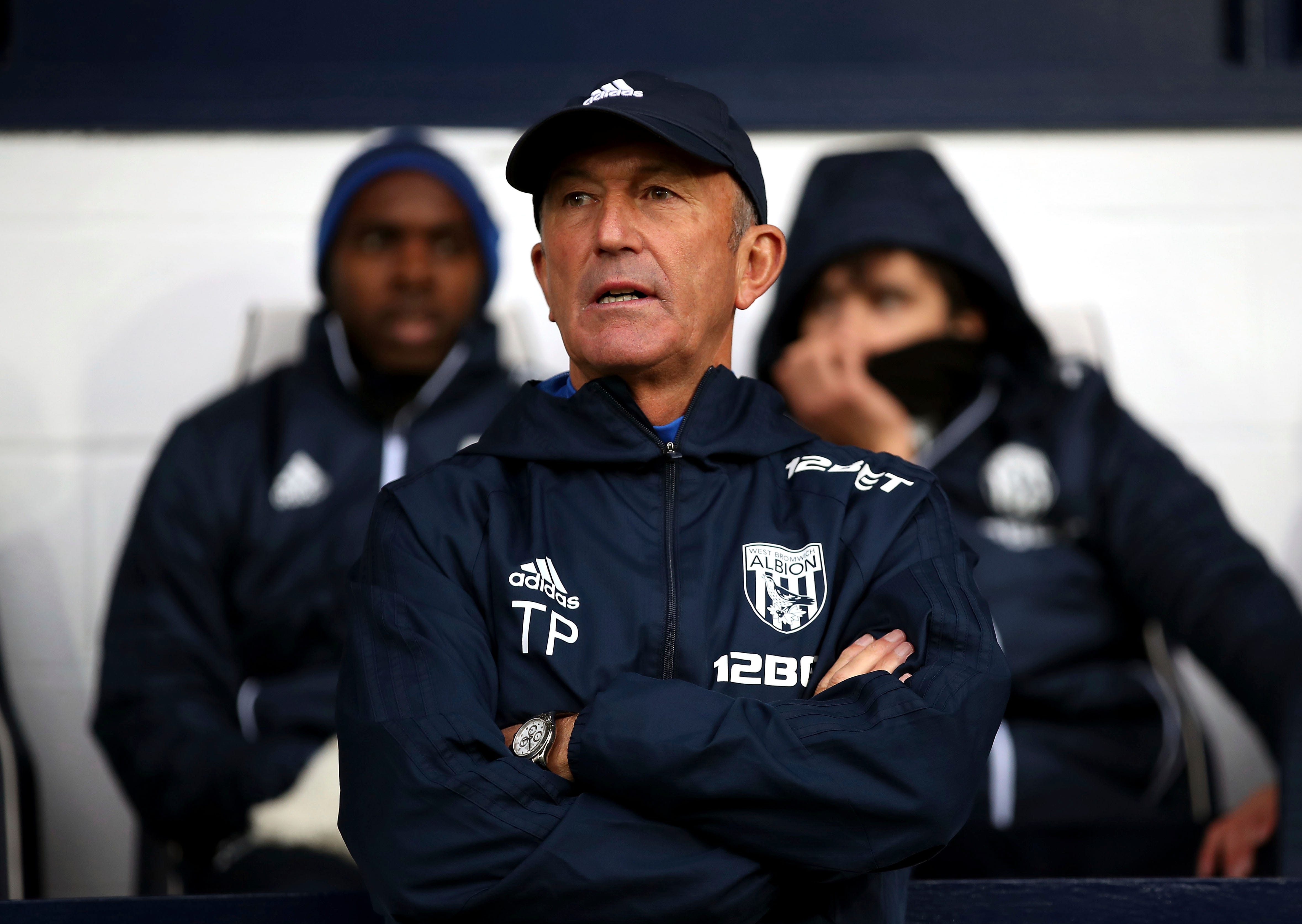West Brom fires Tony Pulis with team in relegation danger
