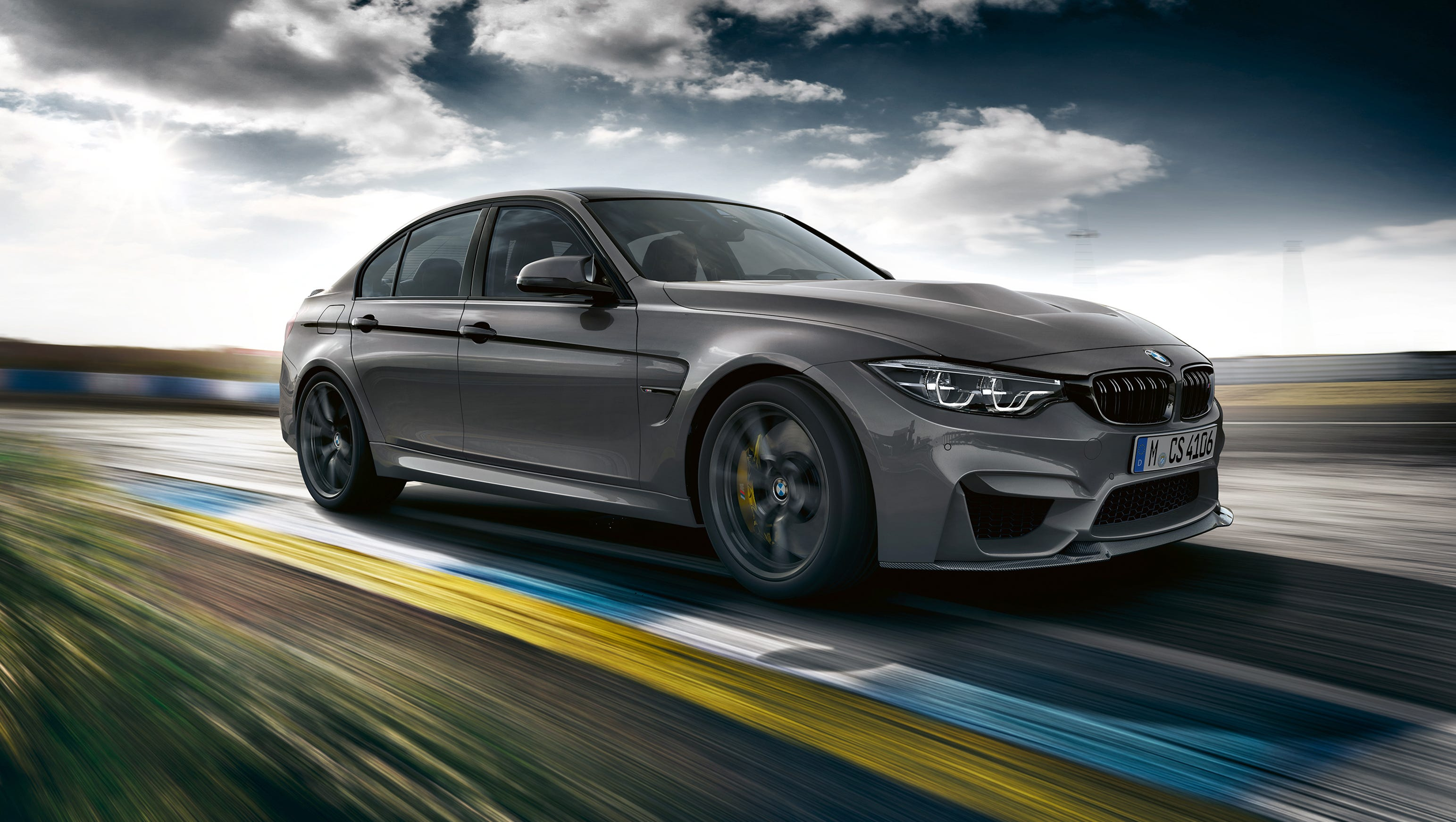 2018 BMW M3 CS, European model