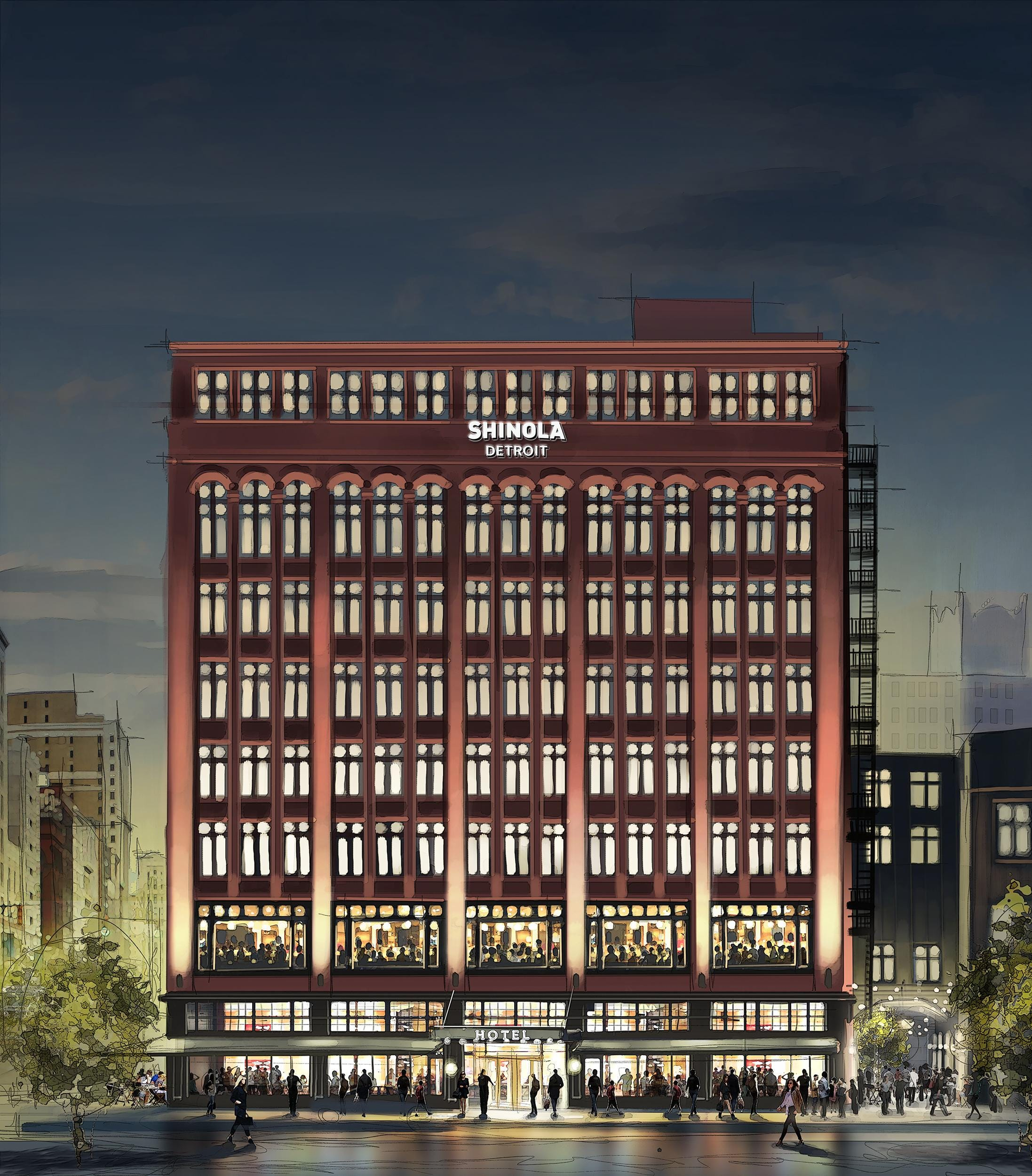 Beer hall, Italian restaurant and cocktail lounge coming to Shinola Hotel