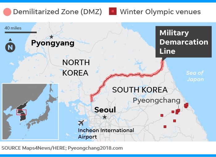 Winter Olympics South Korea interest down amid North Korea questions