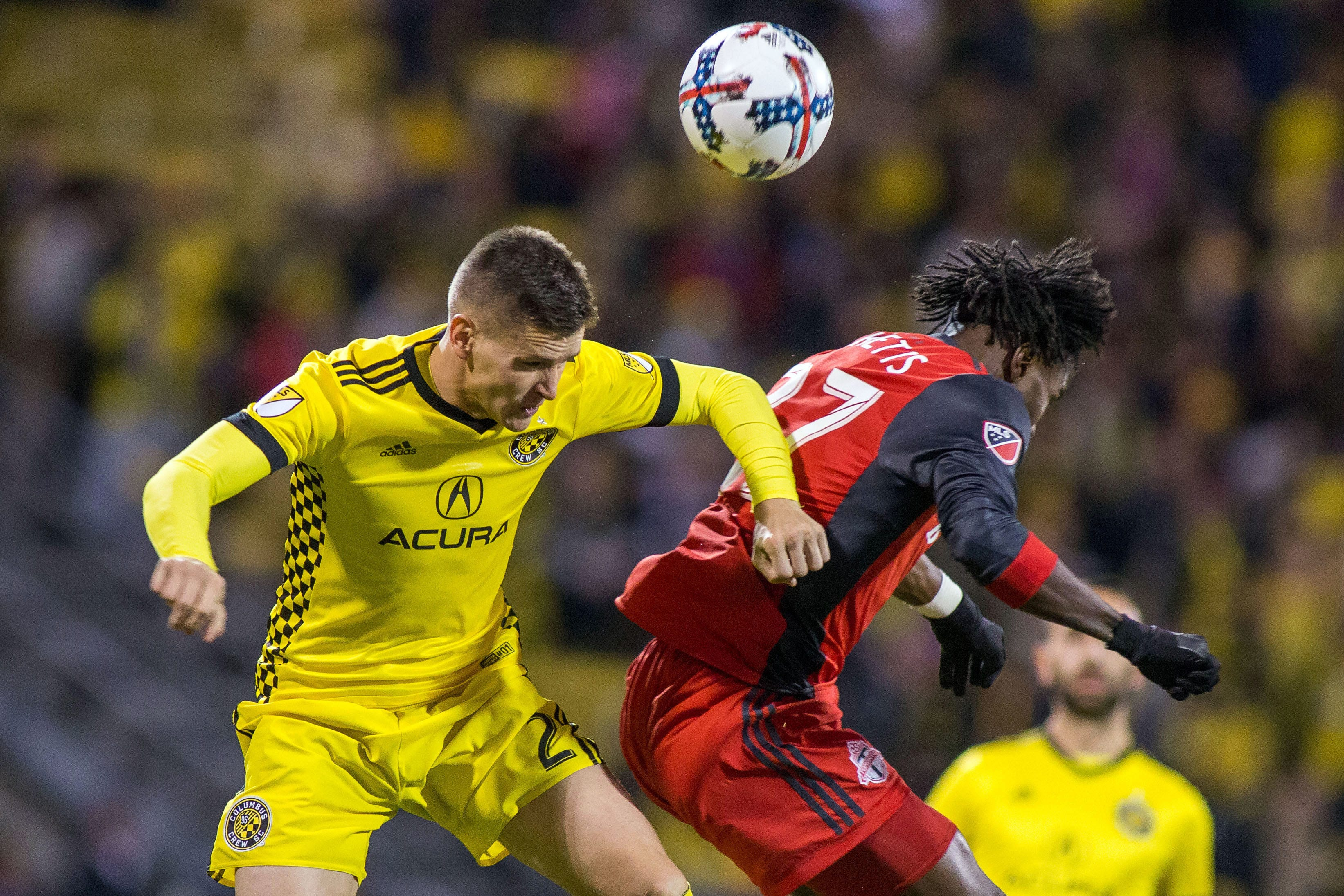 Columbus Crew, Toronto FC play to scoreless draw in first leg of MLS Eastern Conference final