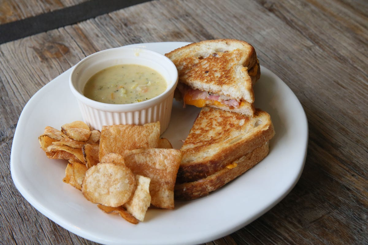 National Grilled Cheese Sandwich Day is Thursday
