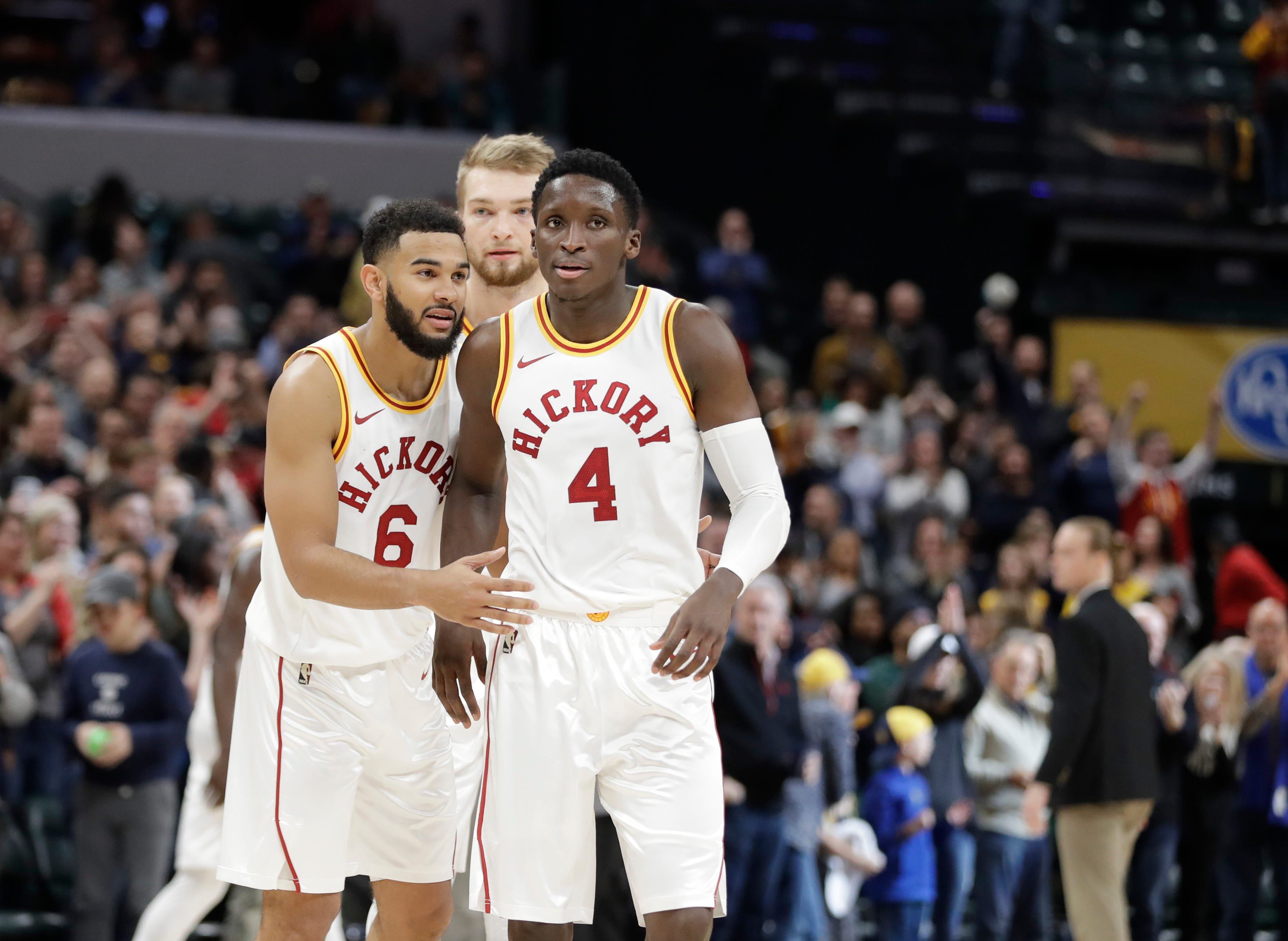 What Victor Oladipo is doing behind the scenes has led to Pacers' success