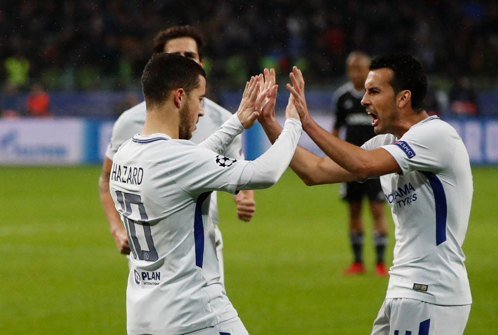 Barcelona, Chelsea advance to Champions League's knockout stage