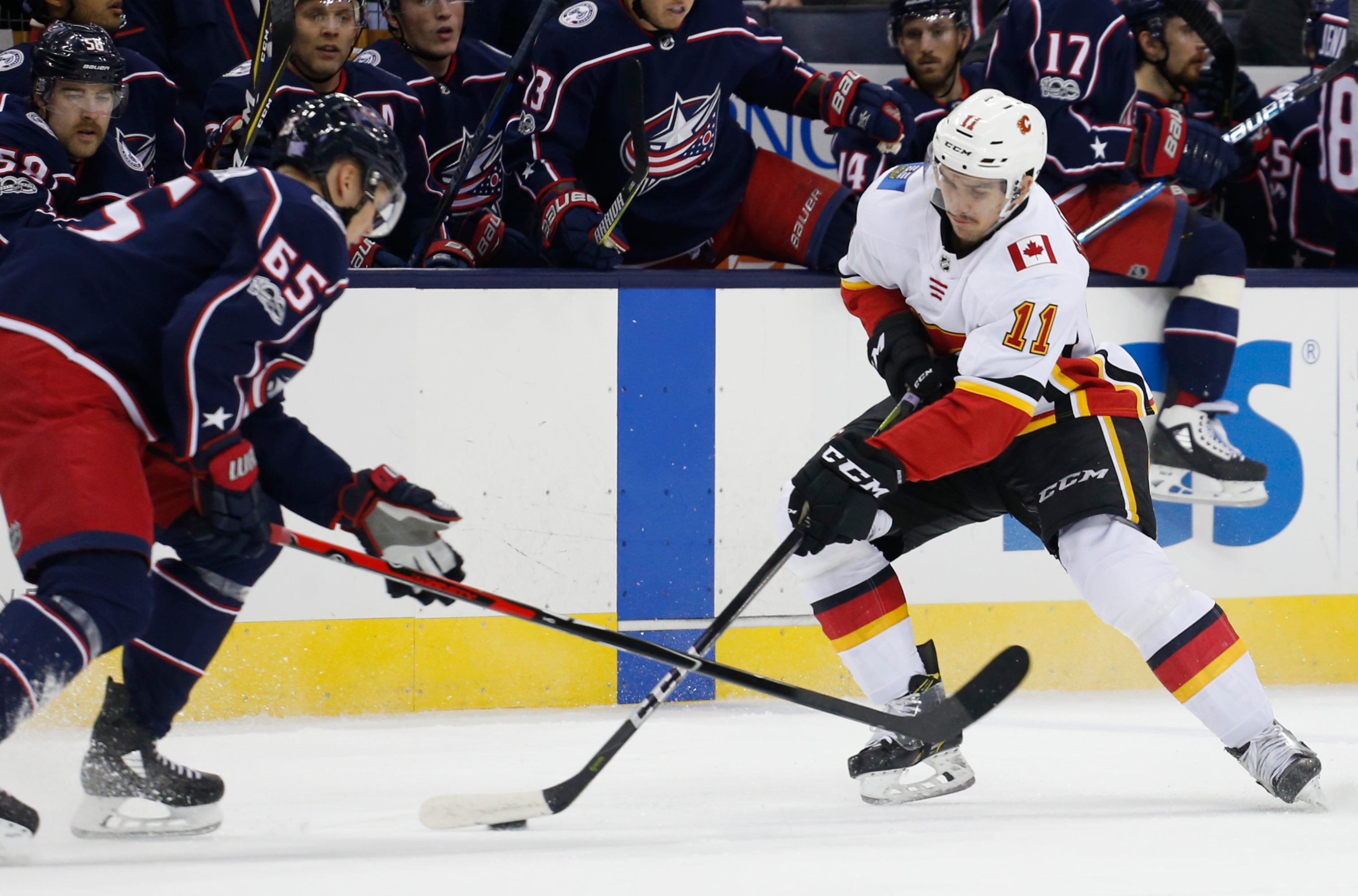 ... in OT gives Blue Jackets 1-0 win over Flames Josh Anderson scored two  minutes into overtime to give the Columbus Blue Jackets their fifth straight  win 7e8a37250