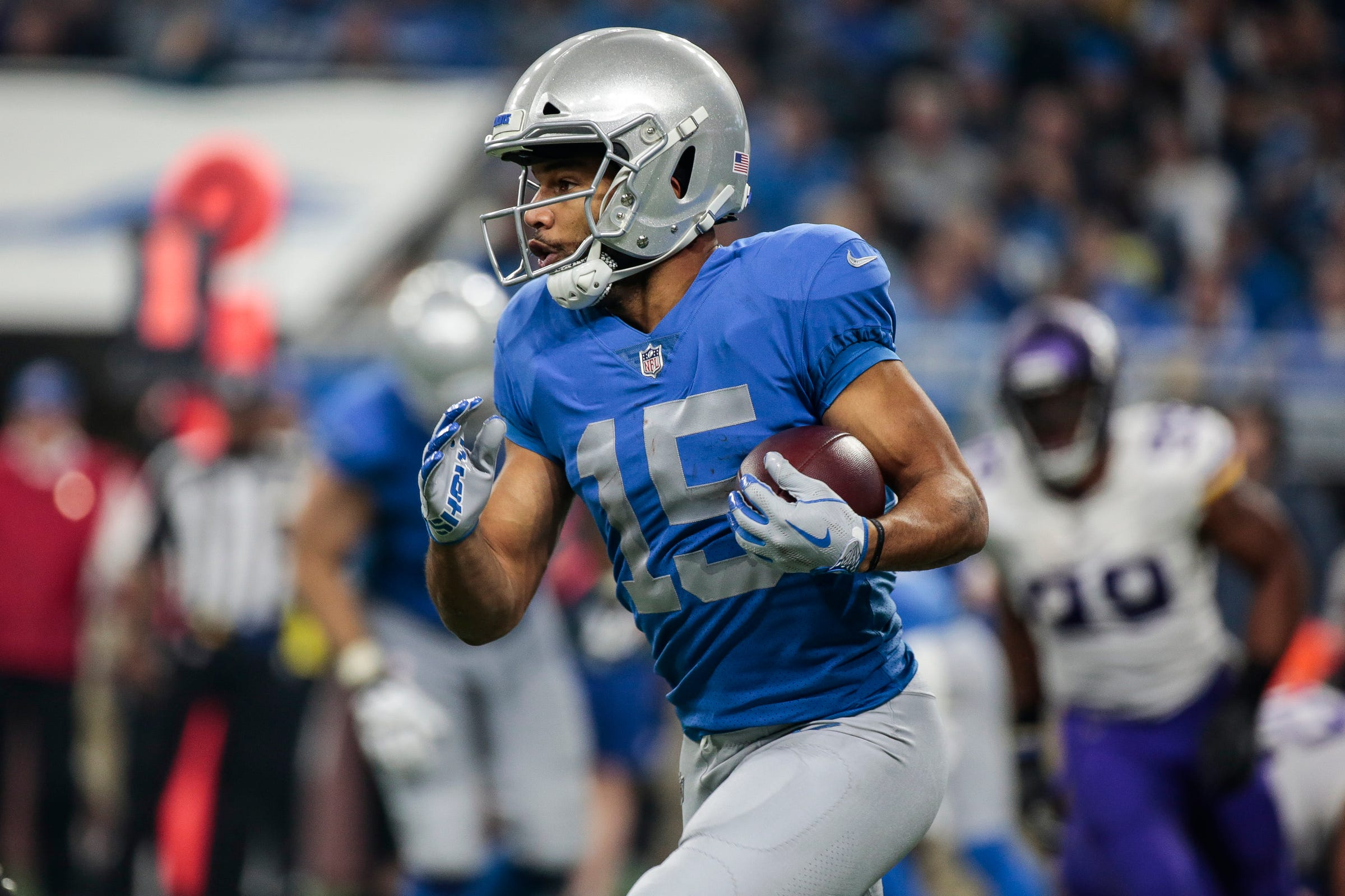 Detroit Lions' Golden Tate: We have to run the table to make playoffs
