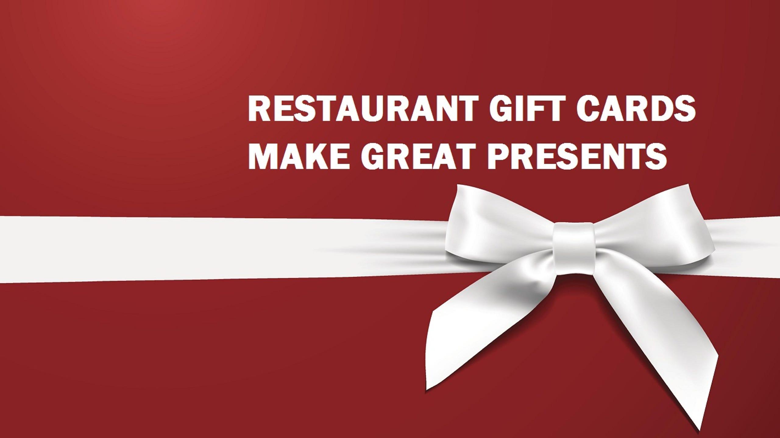Restaurant Gift Card Deals 2018