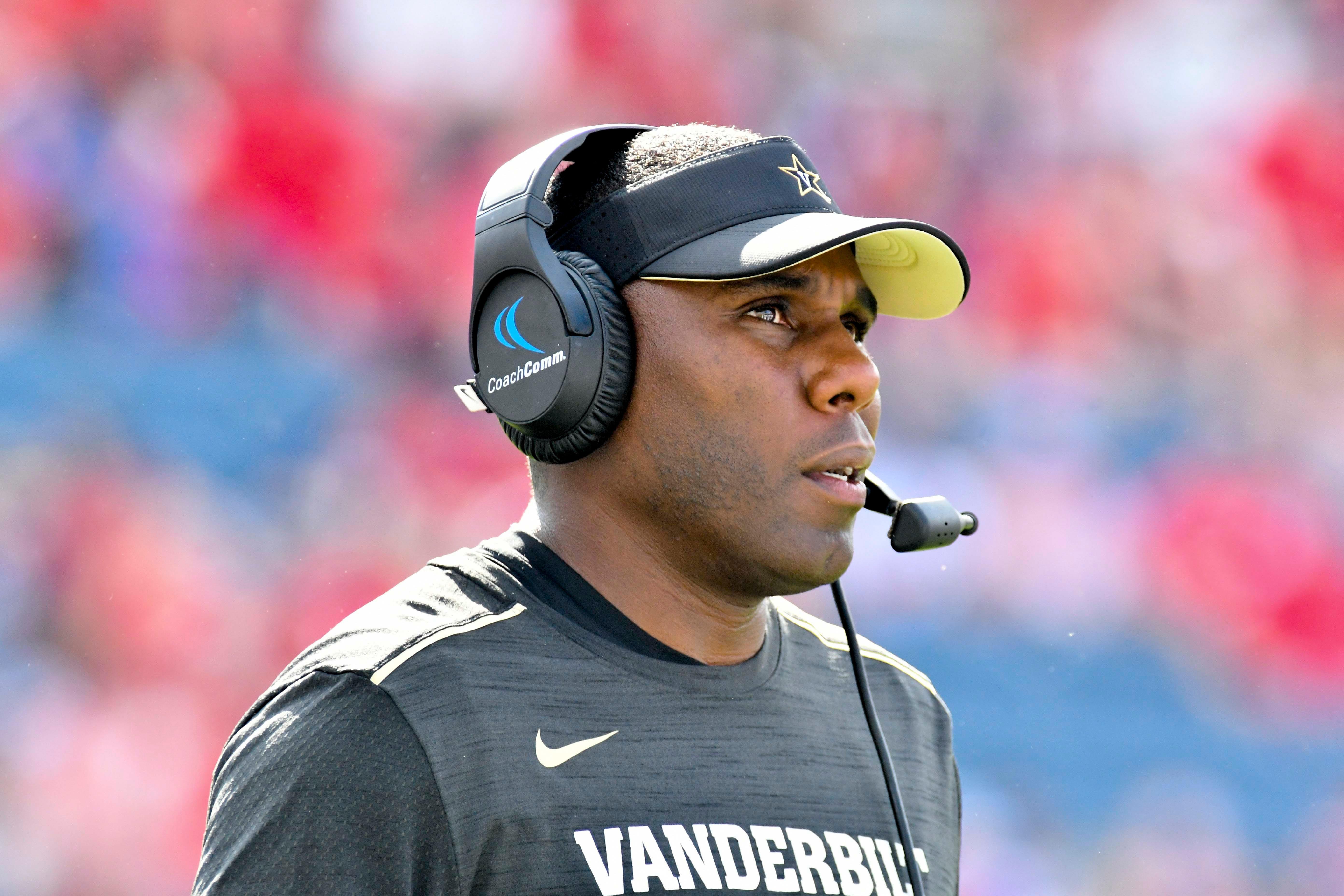 Derek Mason, head coach, Vanderbilt