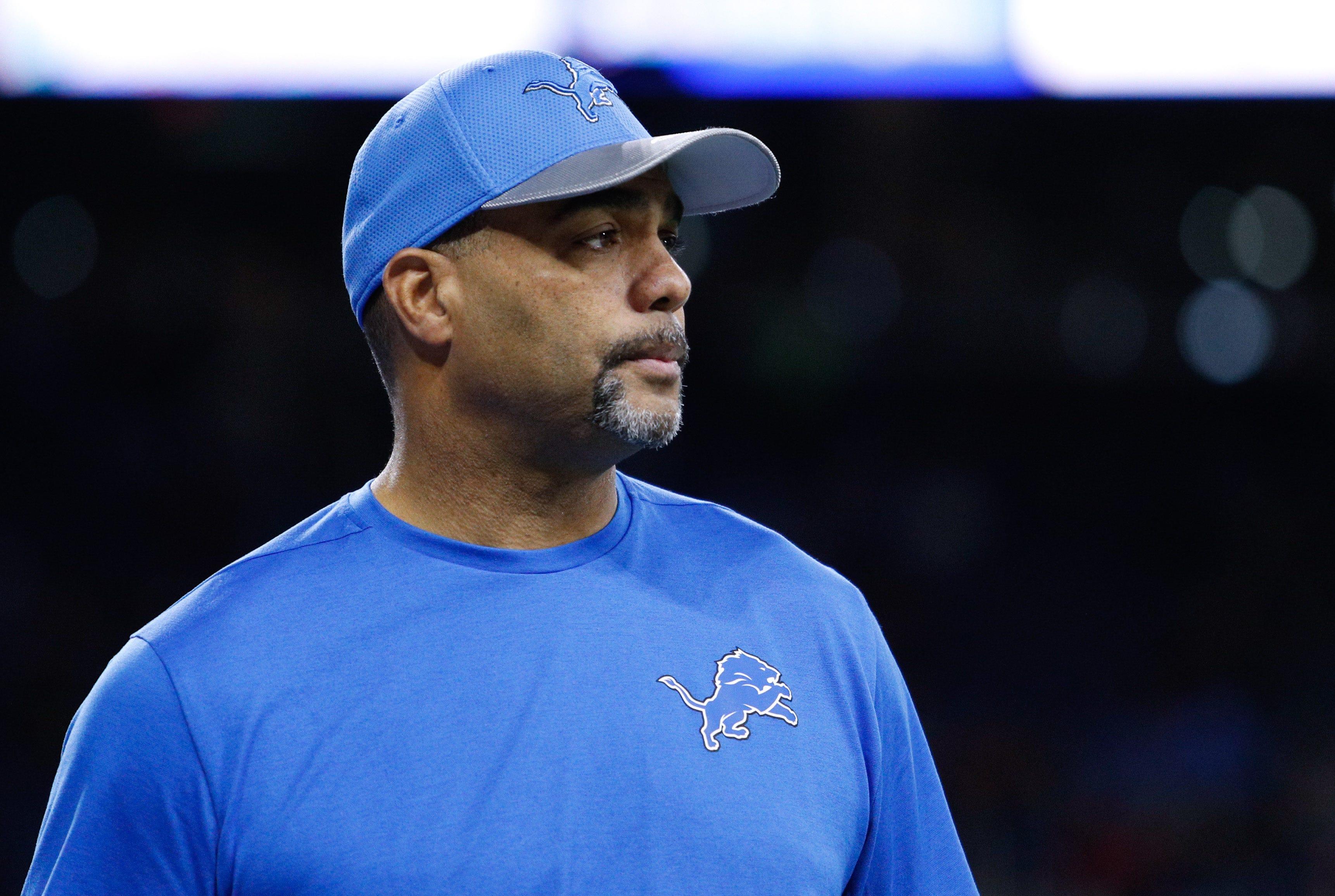 Teryl Austin, defensive coordinator, Detroit Lions.