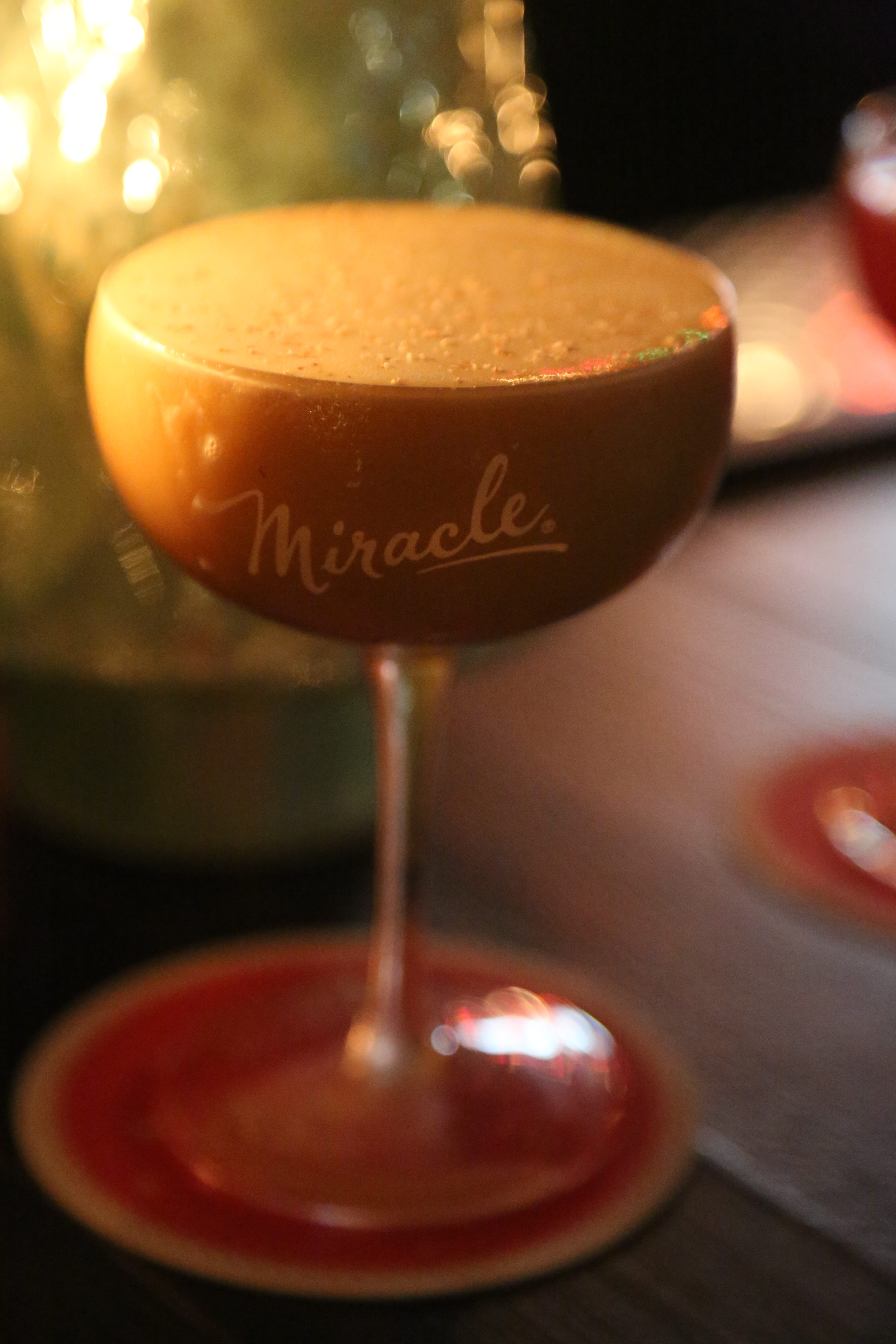 The You'll Shoot Your Rye Out cocktail from Miracle