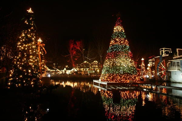6 places to see christmas lights in east tennessee - Tennessee Christmas