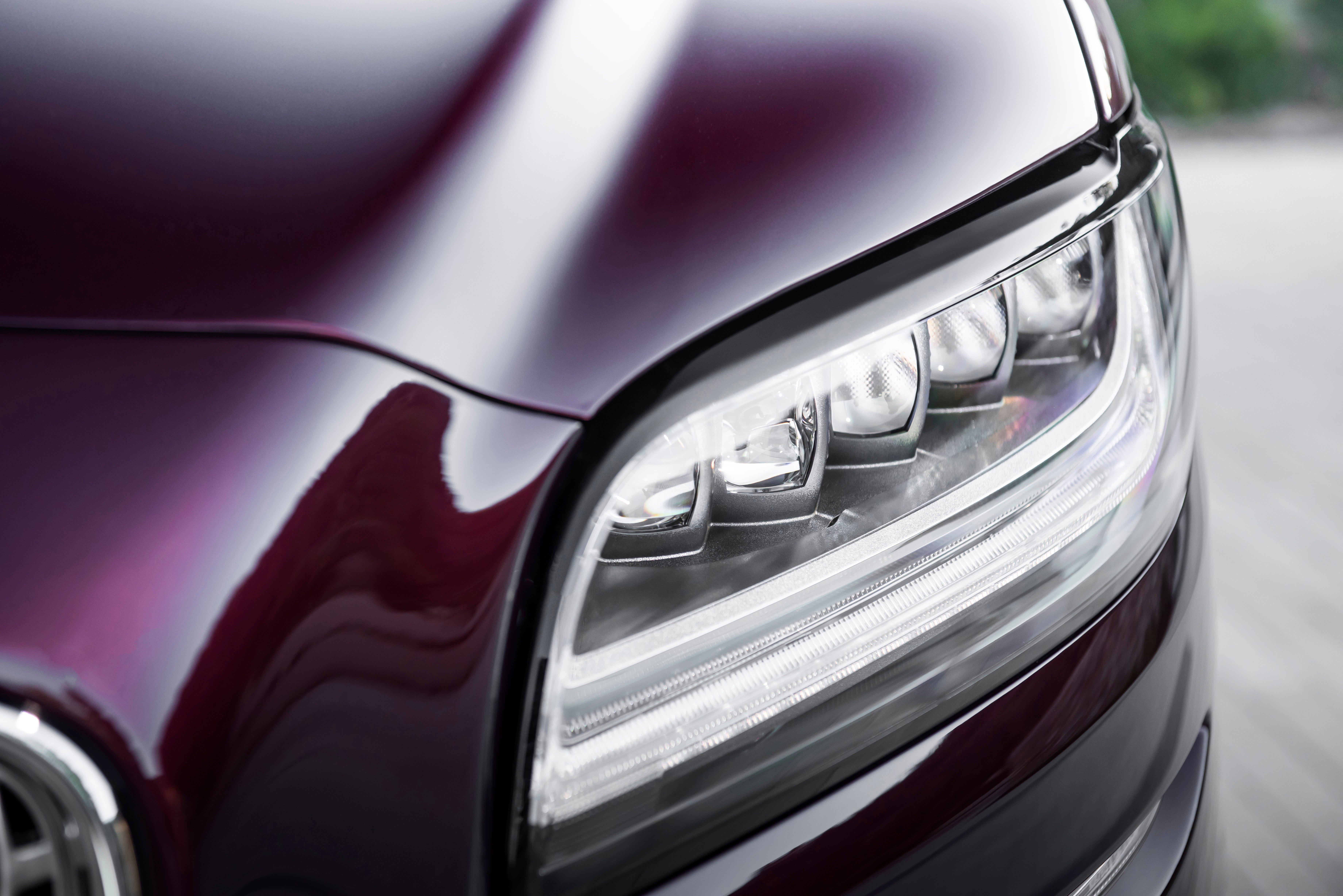 The sleek new Nautilus gets the grille, headlights,