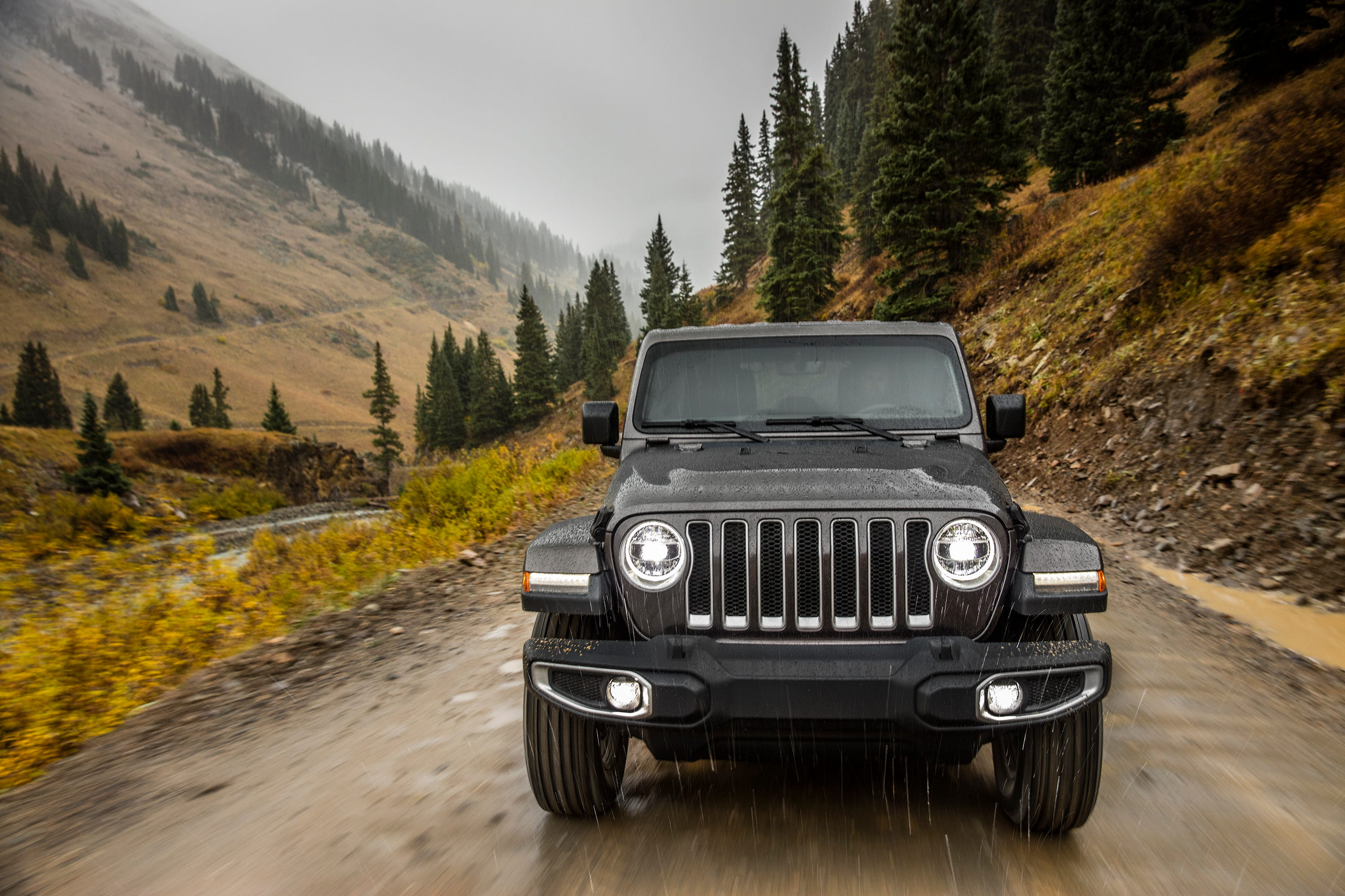 The 2018 Jeep Wrangler Sahara is shown. Heritage is