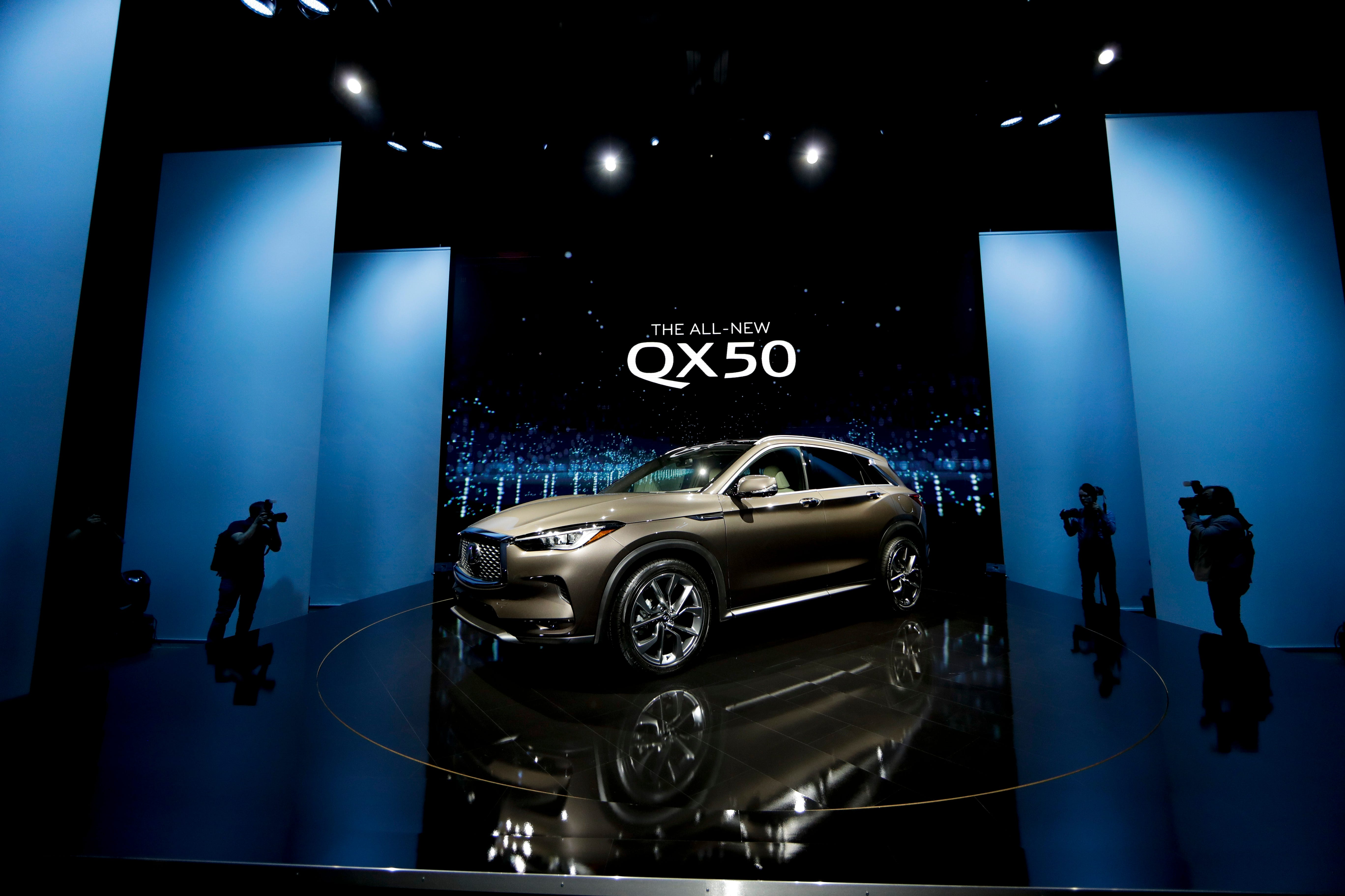 The 2018 Infiniti QX50 is revealed as part of the AutoMobility